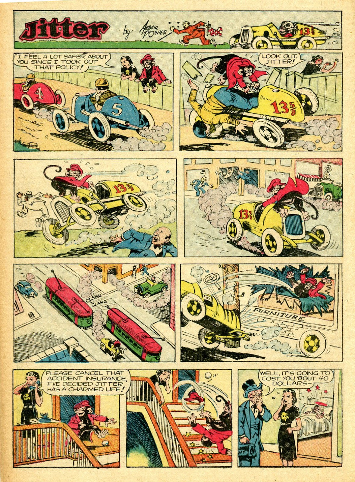 Read online Famous Funnies comic -  Issue #94 - 24