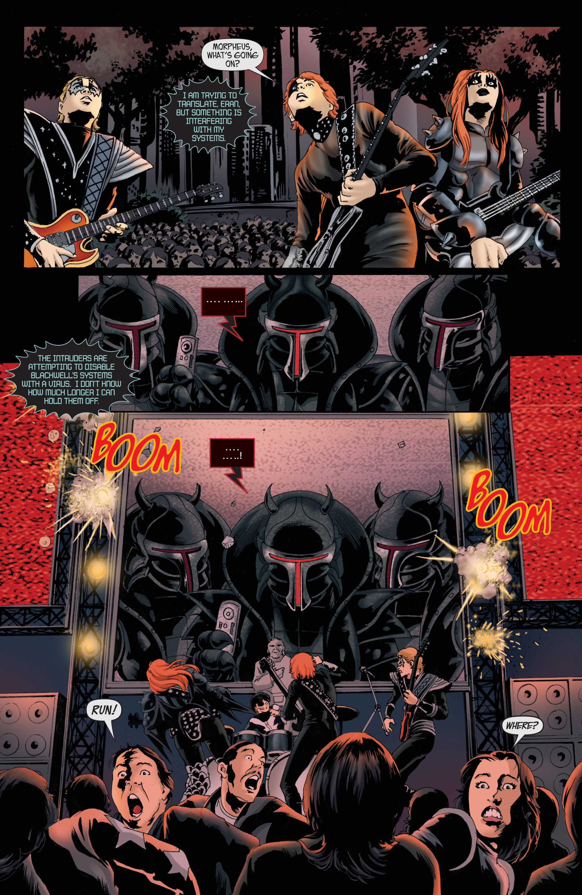 Read online KISS comic -  Issue #8 - 7