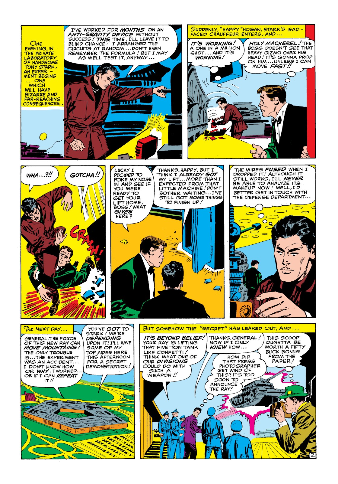 Read online Marvel Masterworks: The Invincible Iron Man comic -  Issue # TPB 2 (Part 1) - 33