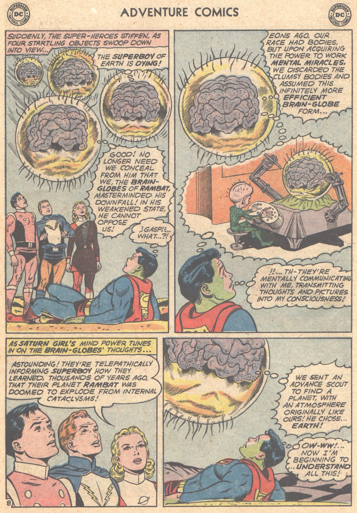 Read online Adventure Comics (1938) comic -  Issue #293 - 10
