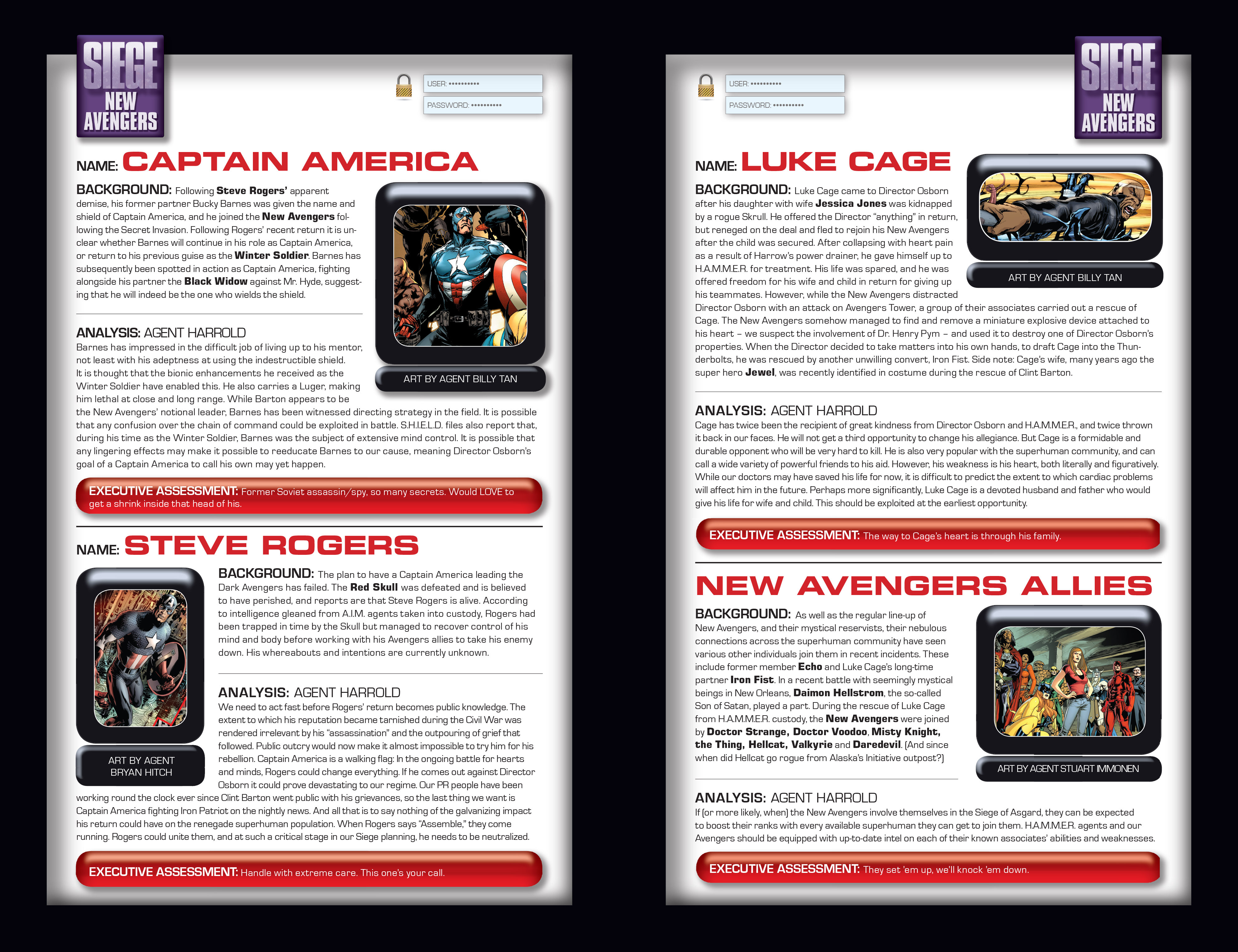 Read online Siege: Storming Asgard - Heroes and Villains comic -  Issue # Full - 18