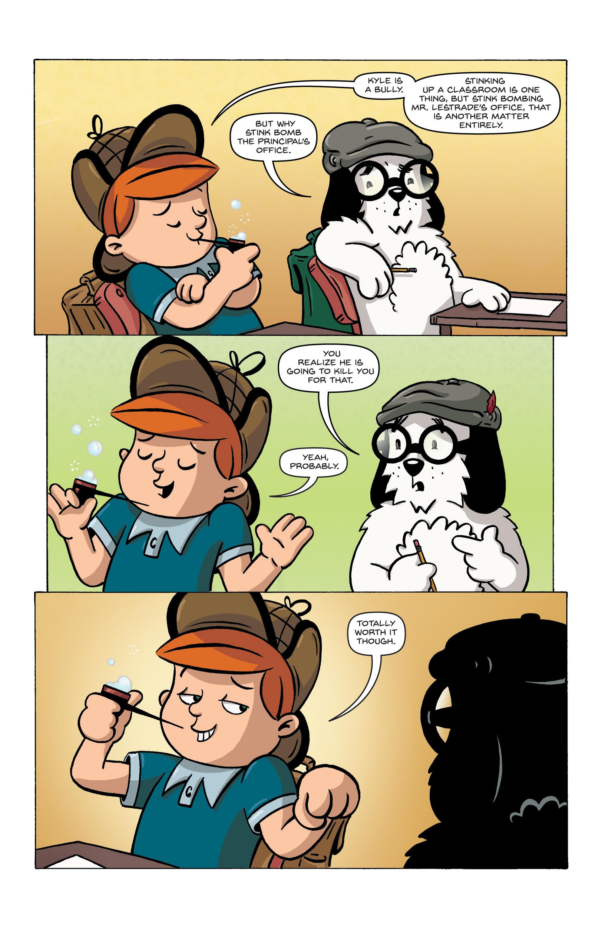 Read online Kid Sherlock comic -  Issue #1 - 23