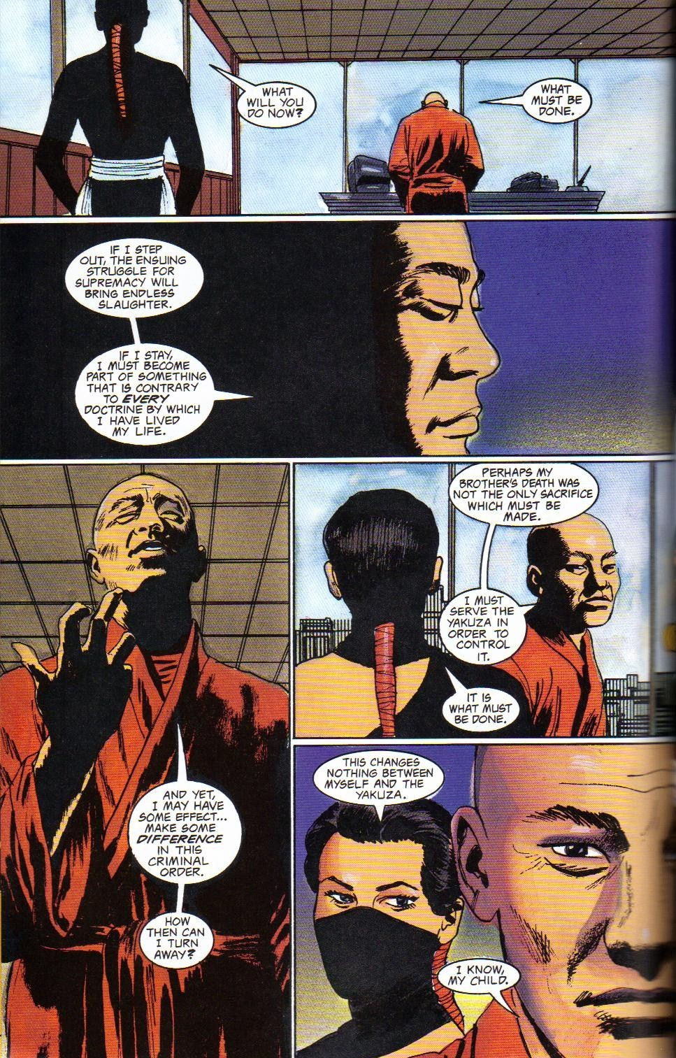 Read online Shado: Song of the Dragon comic -  Issue #4 - 46
