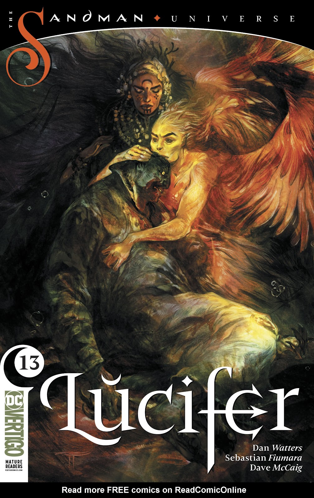 Read online Lucifer (2018) comic -  Issue #13 - 1