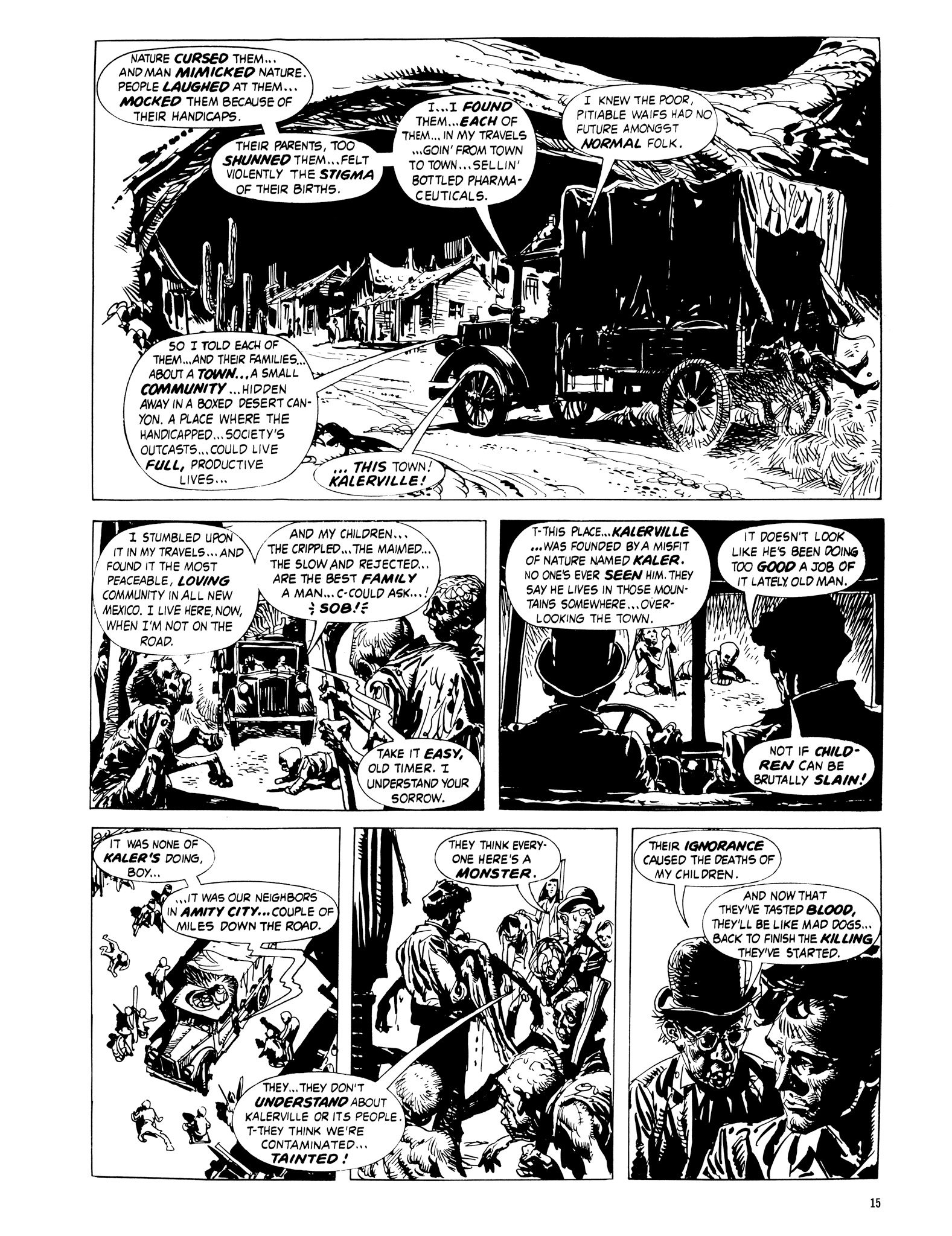 Read online Eerie Archives comic -  Issue # TPB 16 - 16