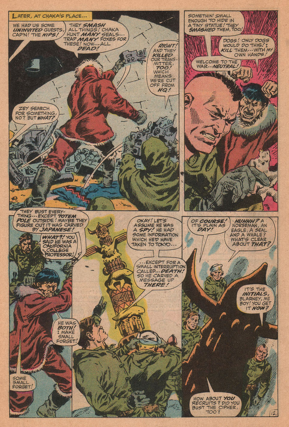 Captain Savage and his Leatherneck Raiders issue 16 - Page 18