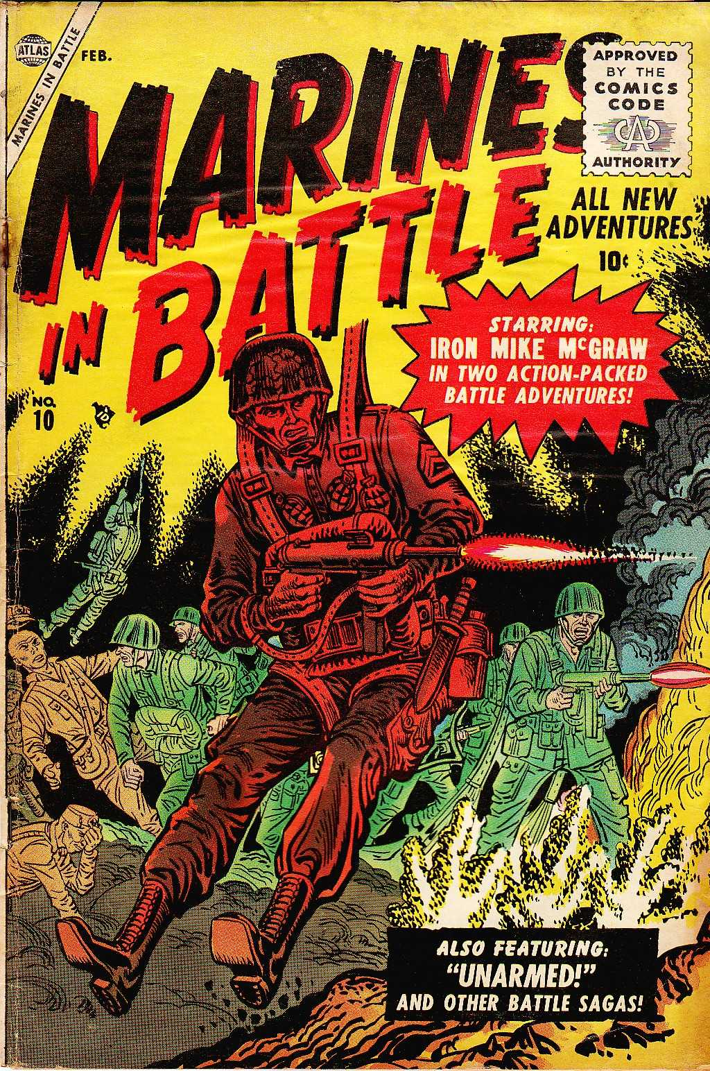 Marines in Battle 10 Page 1