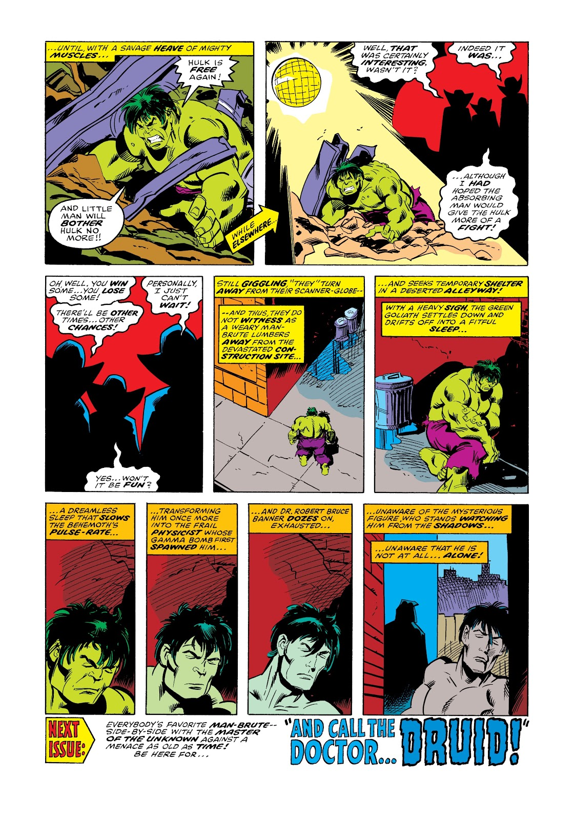 Read online Marvel Masterworks: The Incredible Hulk comic -  Issue # TPB 12 (Part 3) - 81