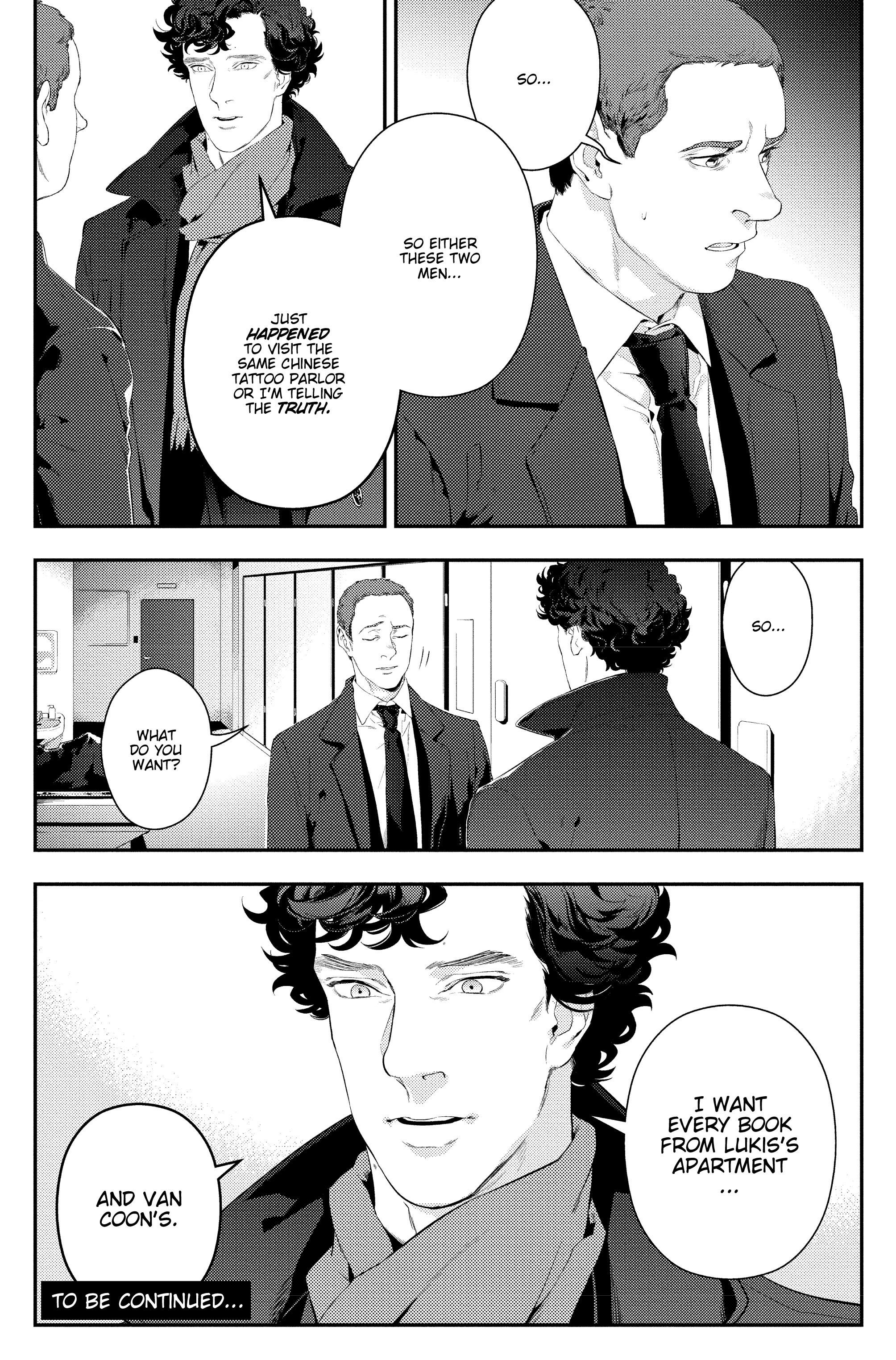 Read online Sherlock: The Blind Banker comic -  Issue #4 - 36
