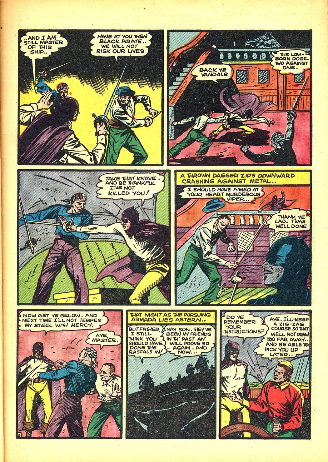 Read online Sensation (Mystery) Comics comic -  Issue #8 - 19