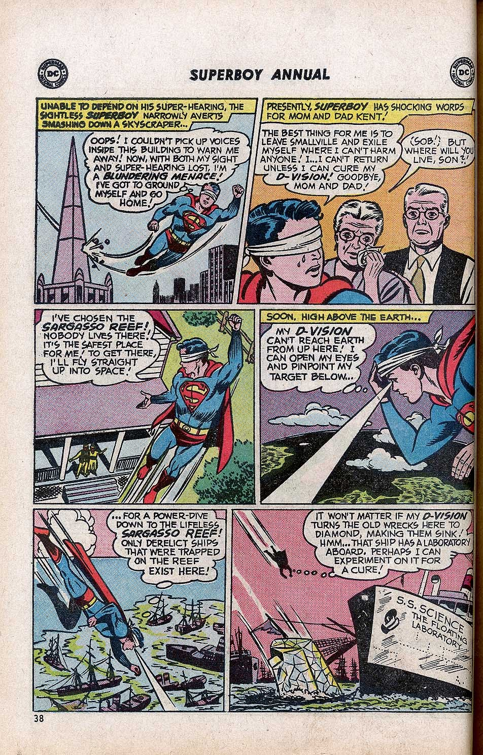 Superboy (1949) issue Annual 1 - Page 40