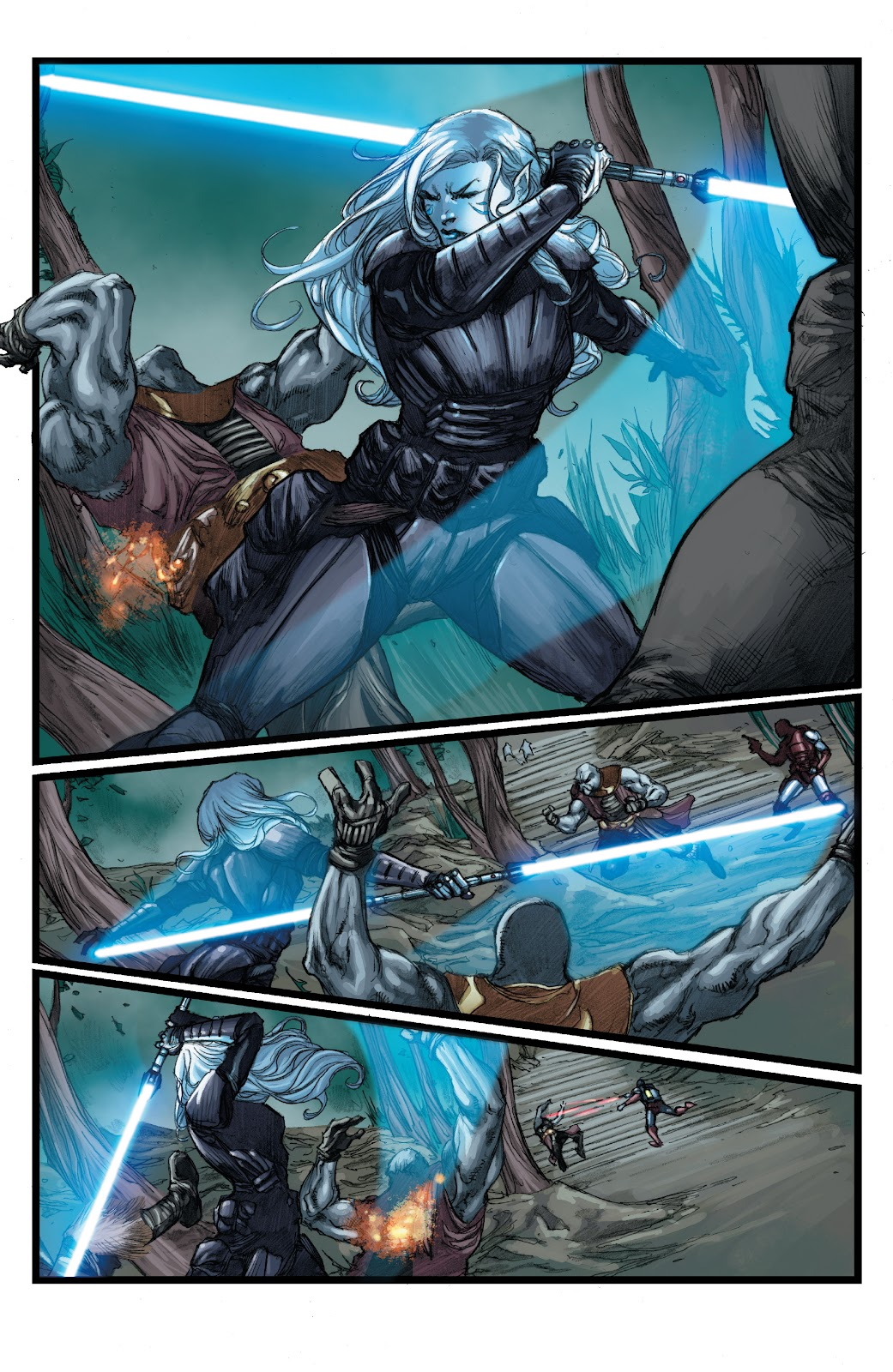 Read online Star Wars Legends: The Old Republic - Epic Collection comic -  Issue # TPB 3 (Part 3) - 66