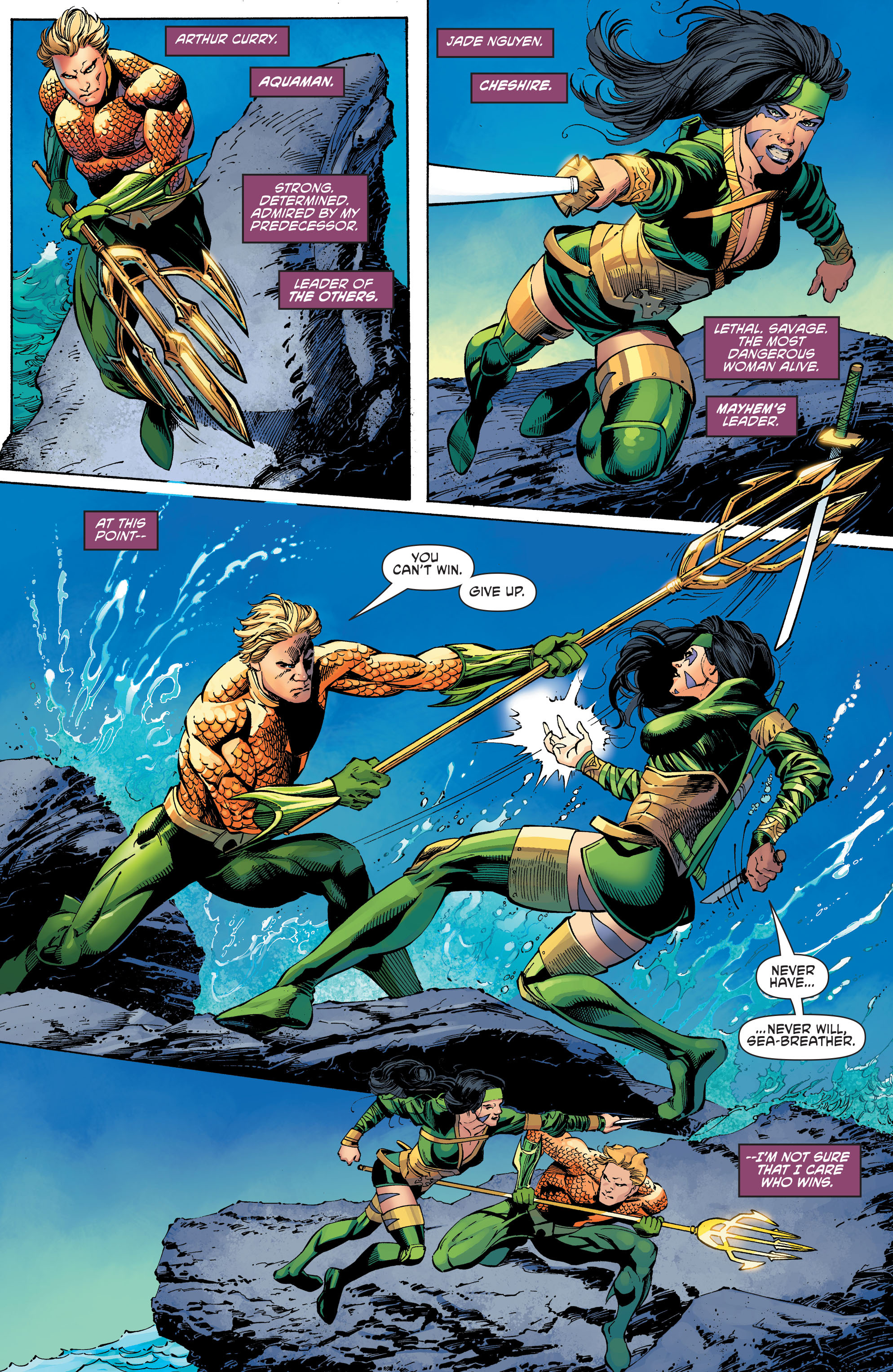 Read online Aquaman and the Others comic -  Issue #11 - 2