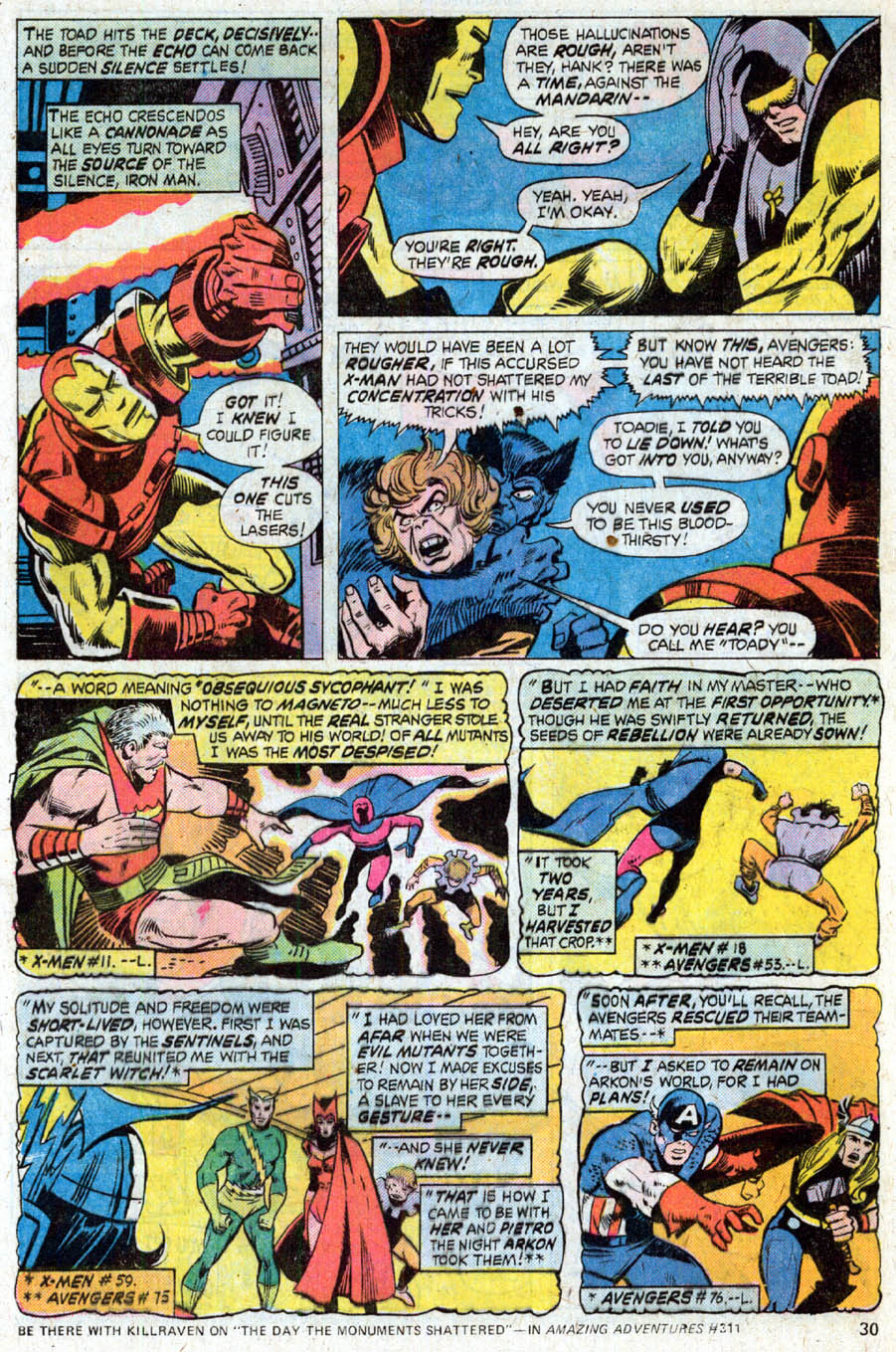 Comic The Avengers (1963) issue 172