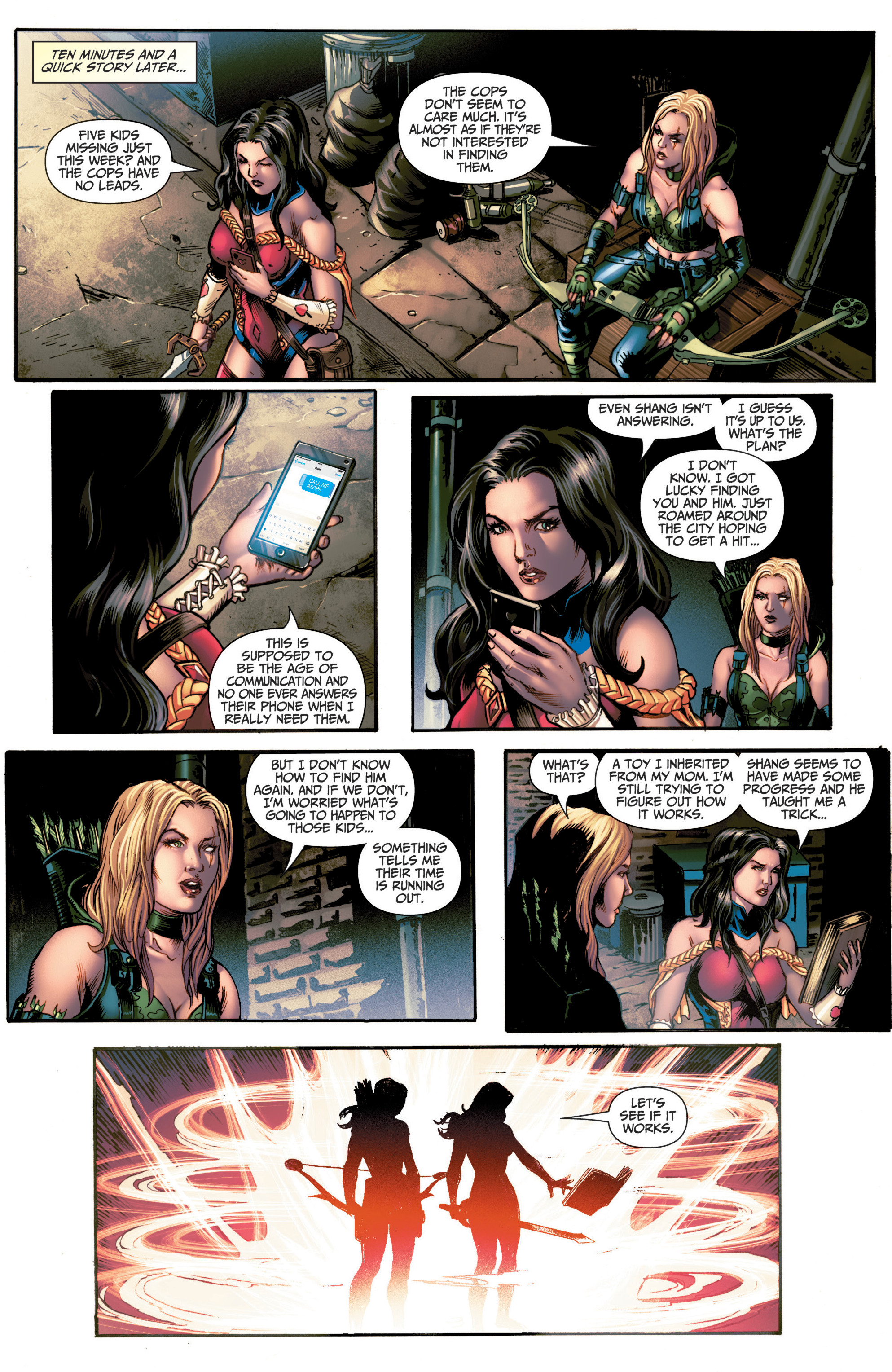 Read online Grimm Fairy Tales (2016) comic -  Issue #6 - 16