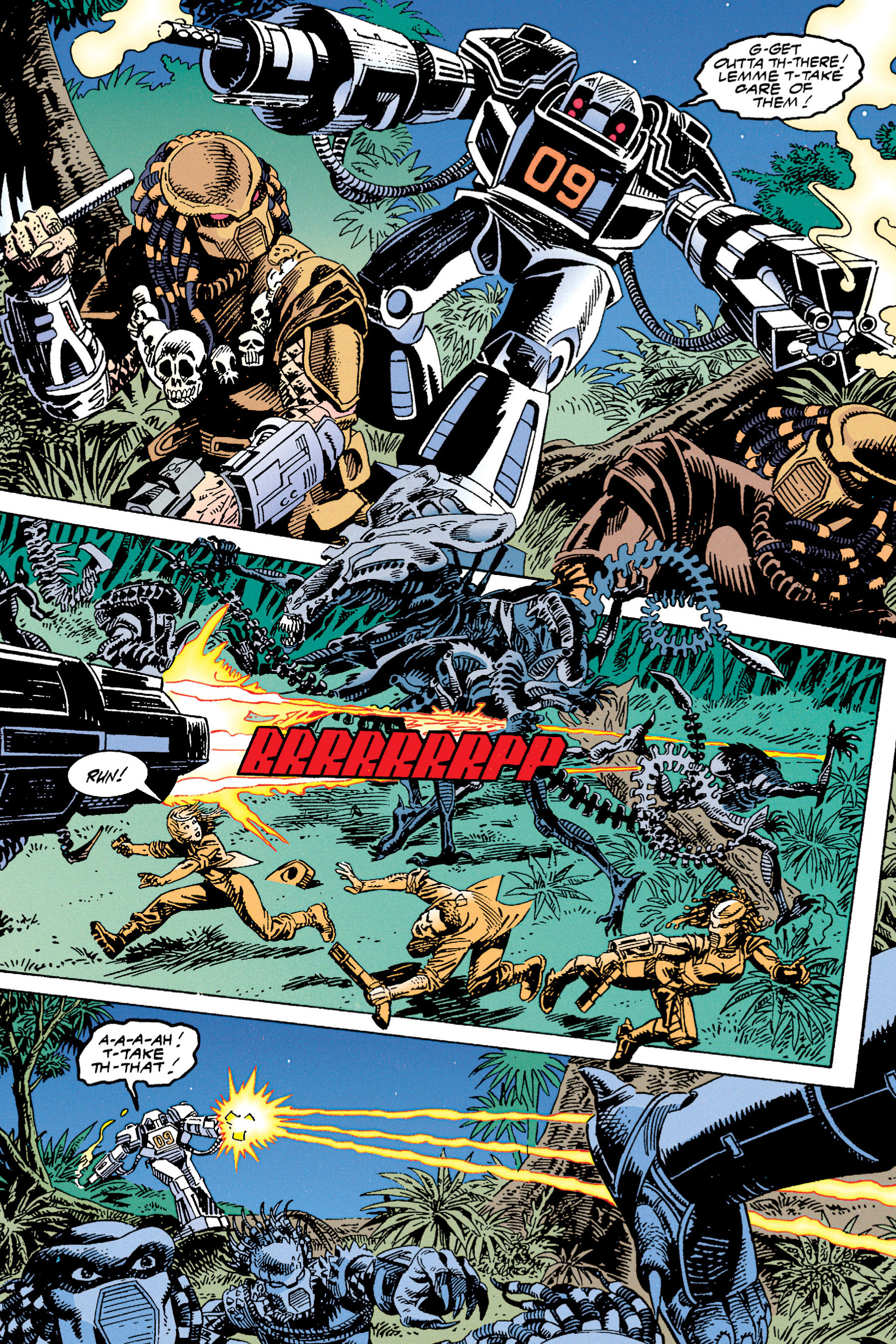 Read online Aliens vs. Predator Omnibus comic -  Issue # _TPB 1 Part 4 - 21