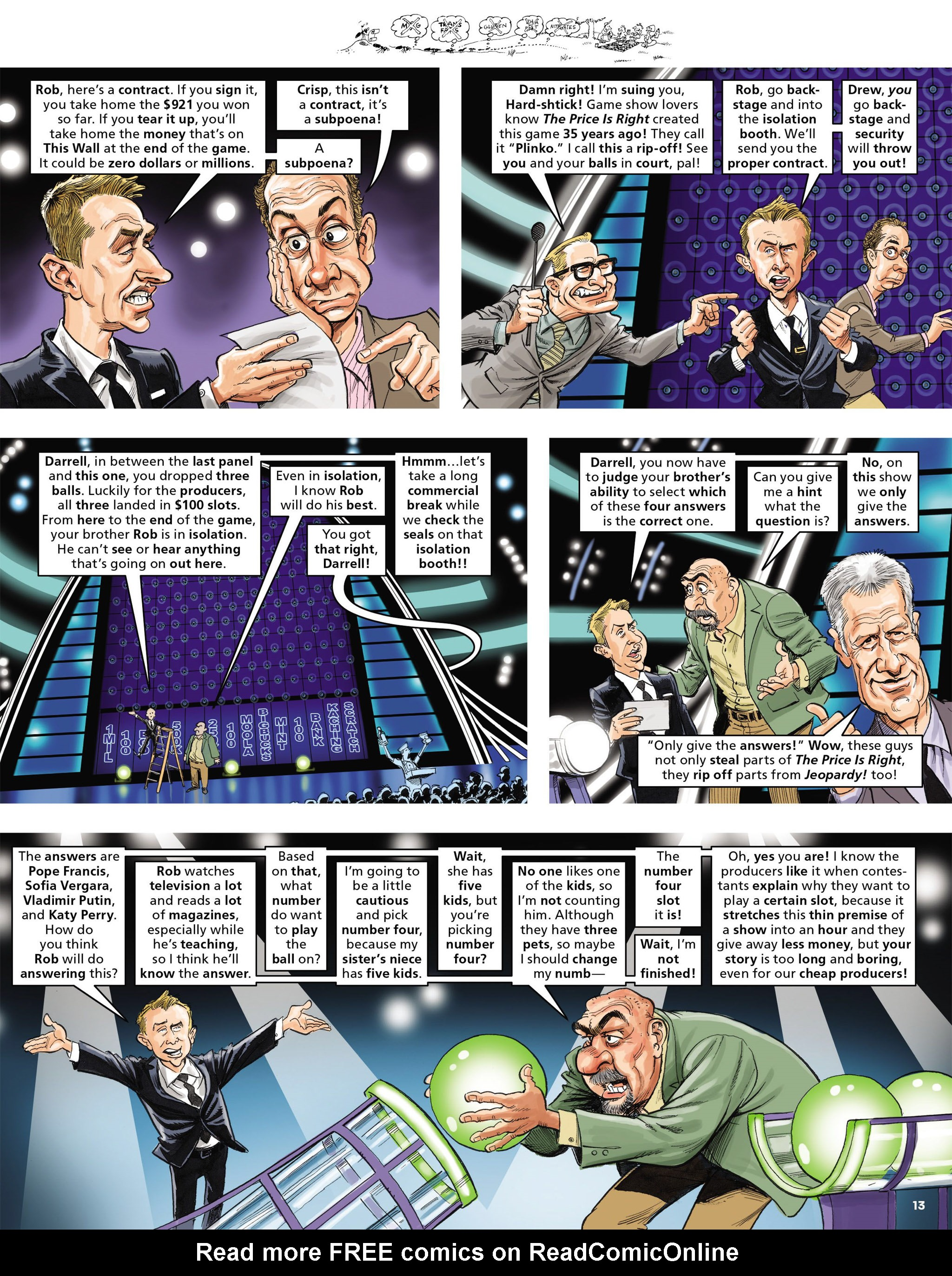 Read online MAD comic -  Issue #546 - 13