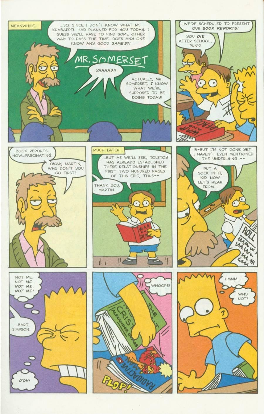 Read online Simpsons Comics comic -  Issue #4 - 17