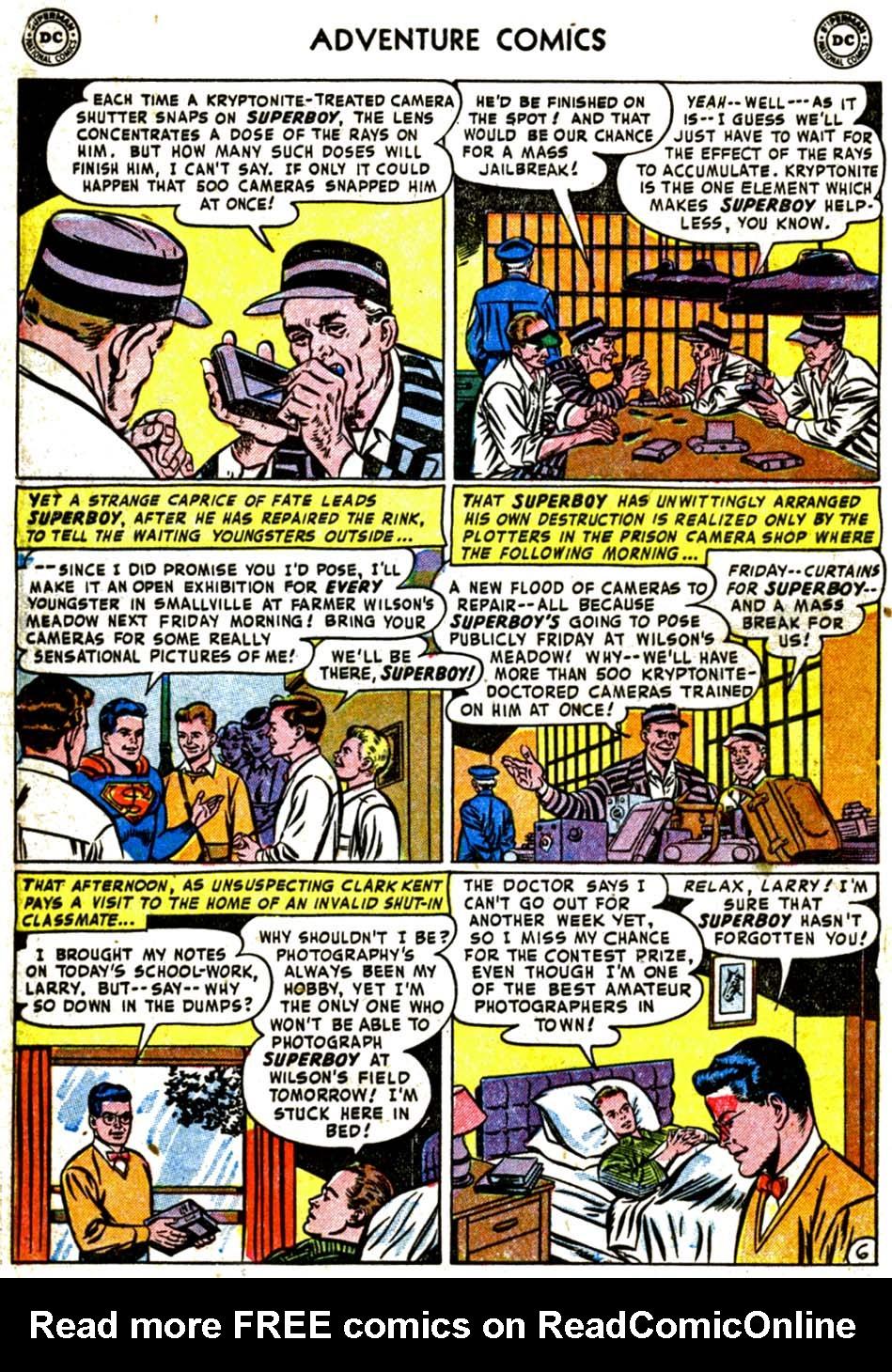 Read online Adventure Comics (1938) comic -  Issue #184 - 8