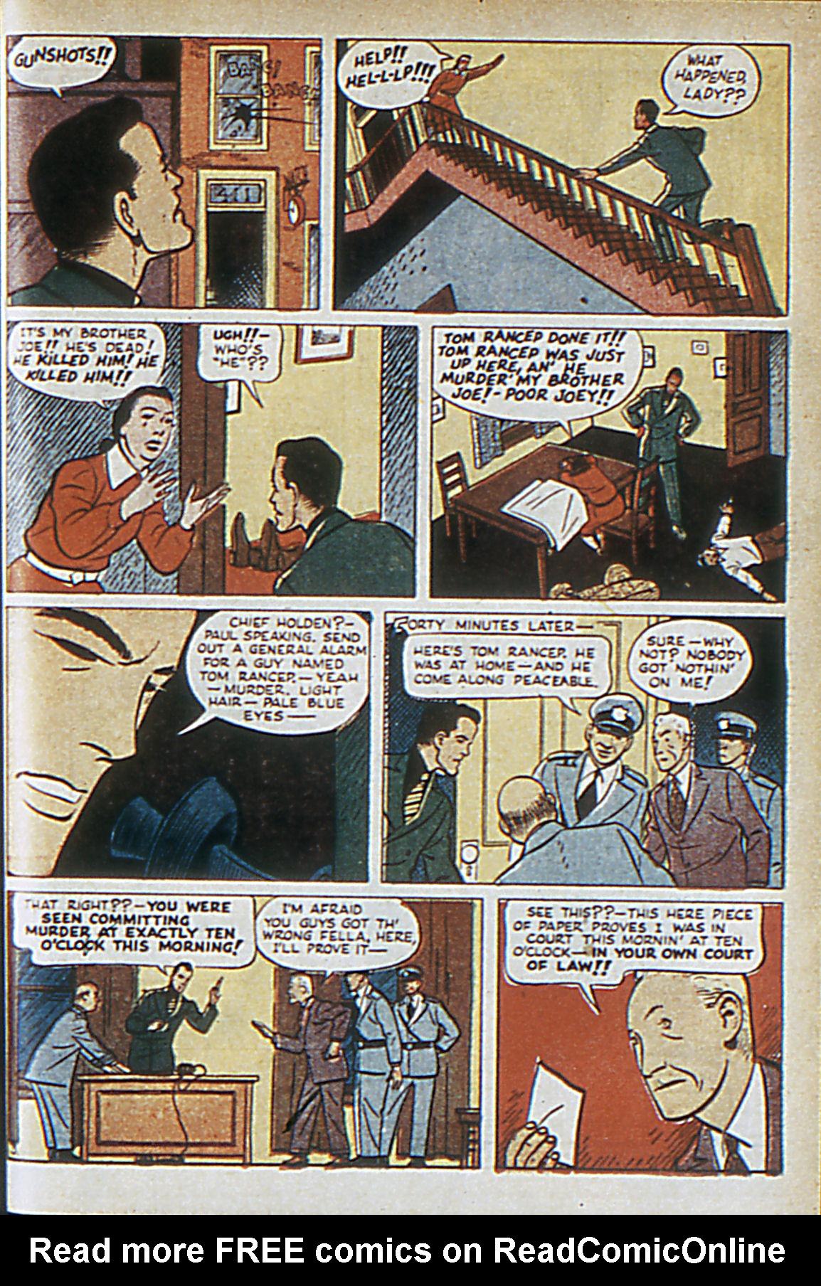 Read online Adventure Comics (1938) comic -  Issue #63 - 44