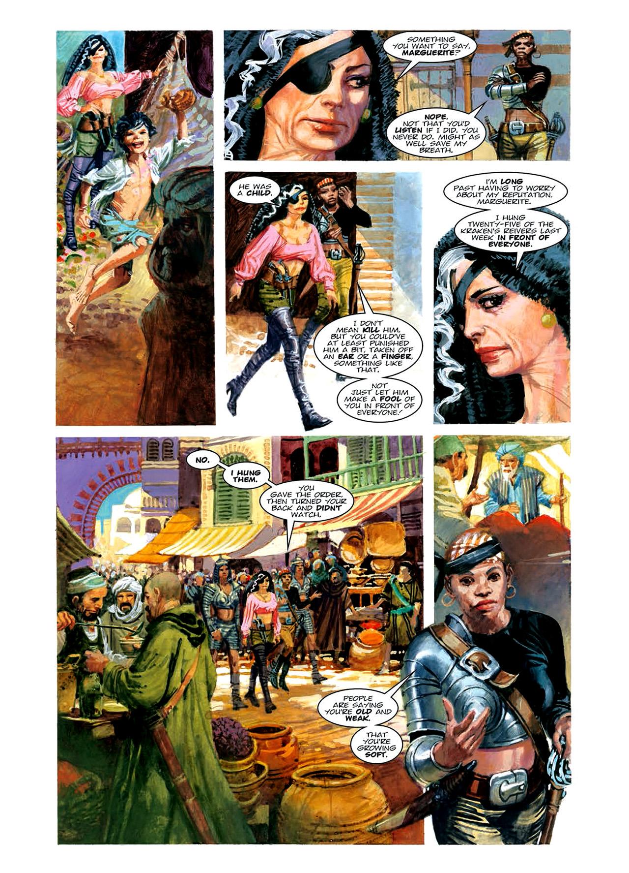 Read online Nikolai Dante comic -  Issue # TPB 6 - 117