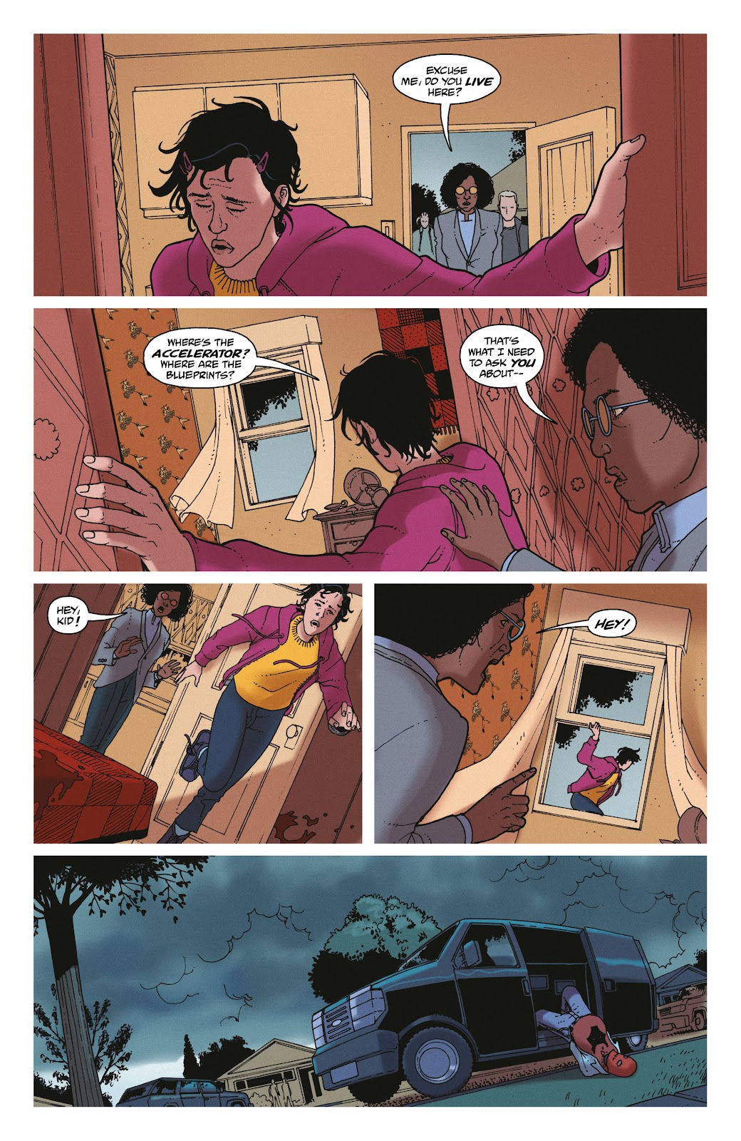 Read online She Could Fly comic -  Issue # _TPB - 133