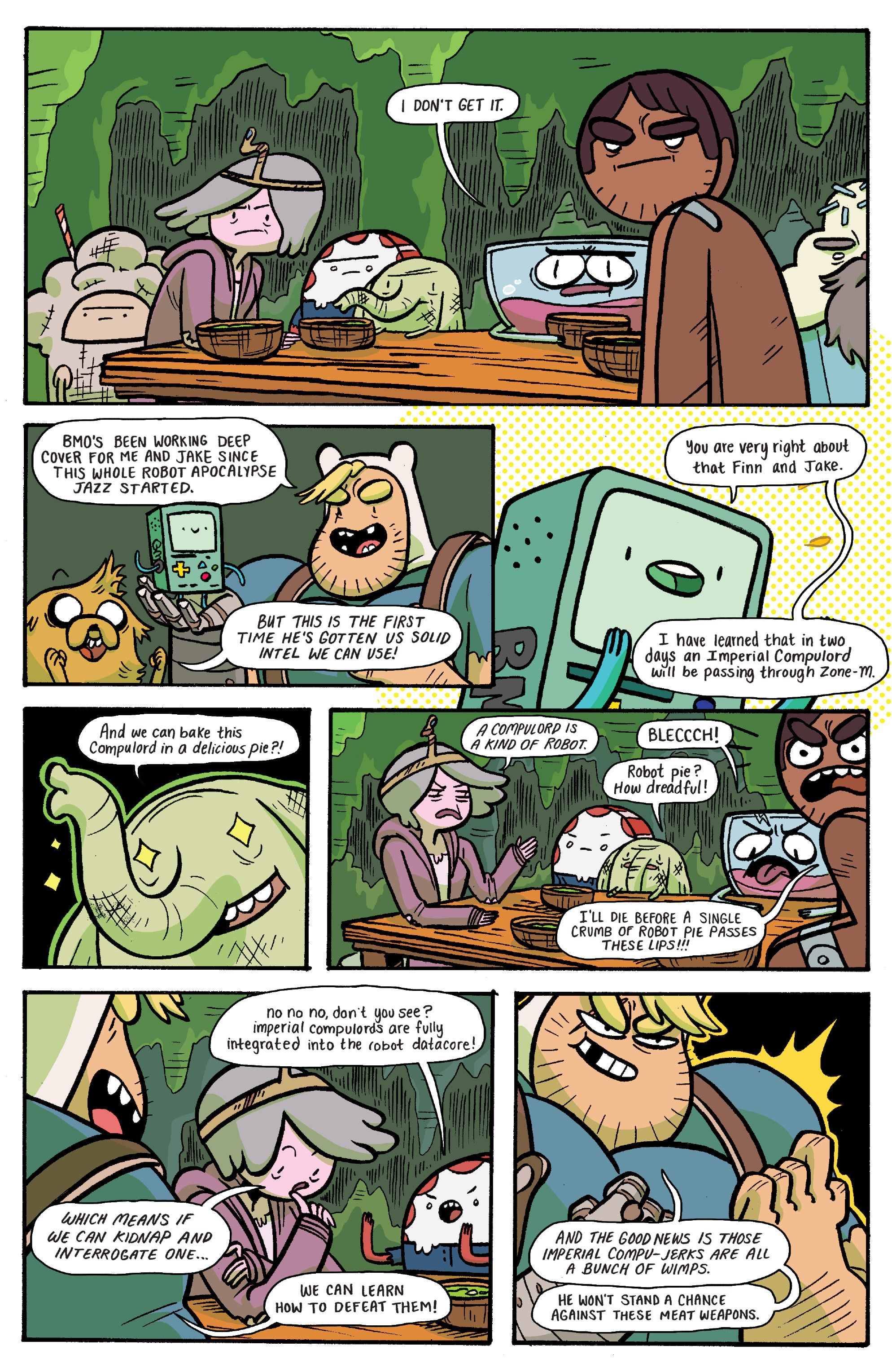 Read online Adventure Time: Banana Guard Academ comic -  Issue #6 - 6