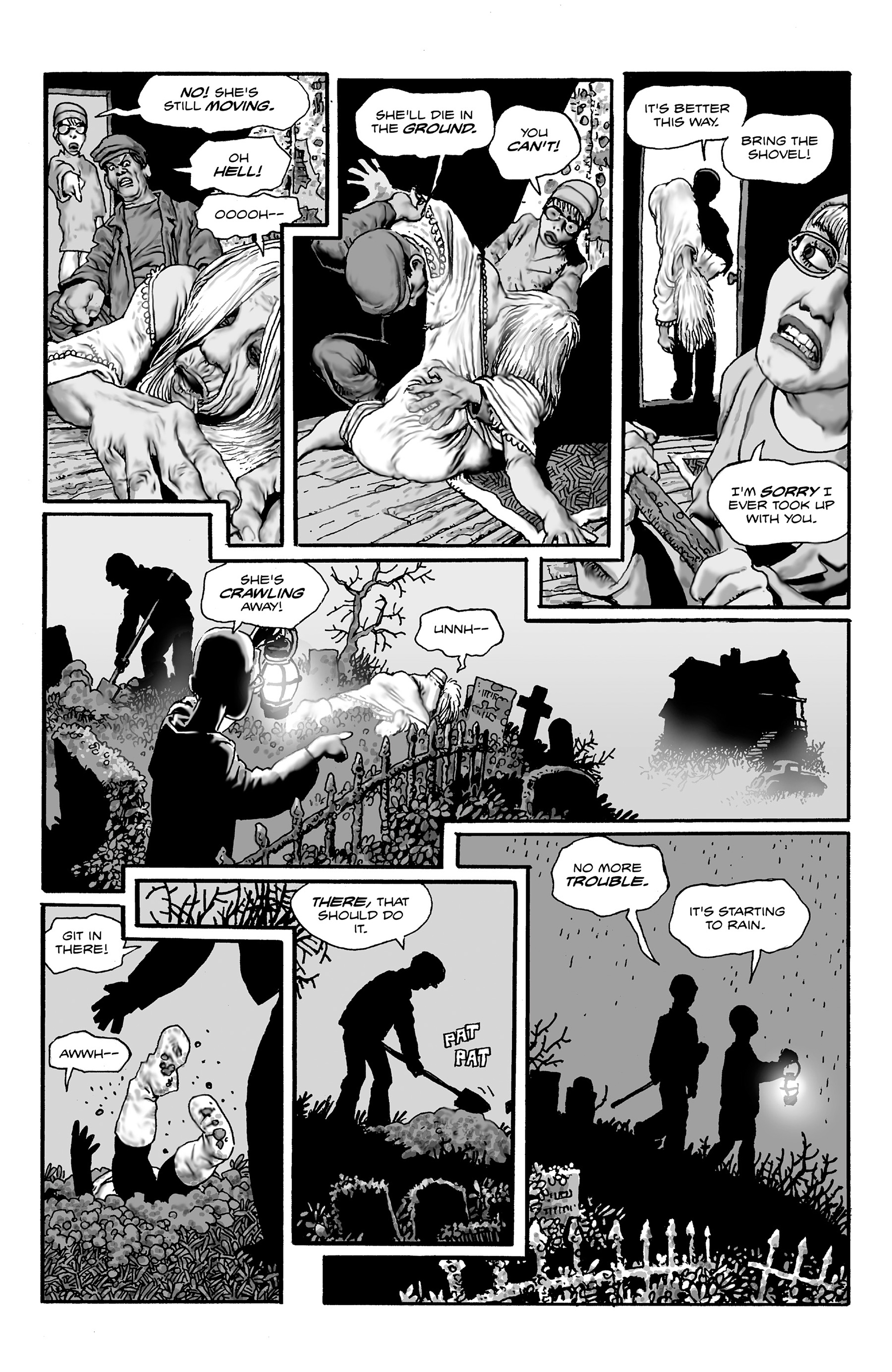 Read online Shadows on the Grave comic -  Issue #2 - 7