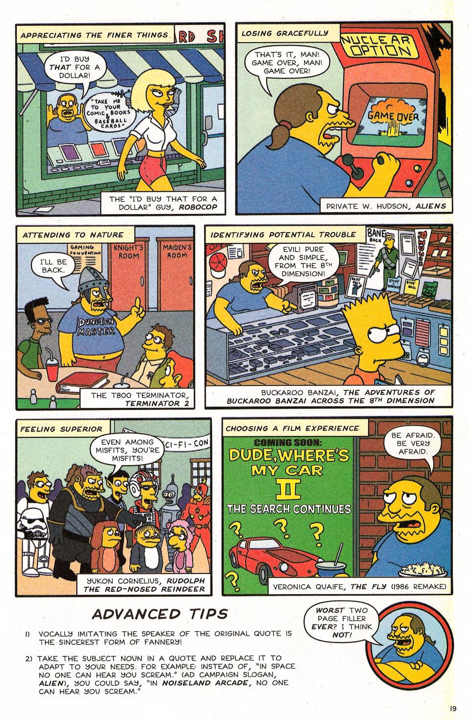 Read online Simpsons Comics Presents Bart Simpson comic -  Issue #31 - 21