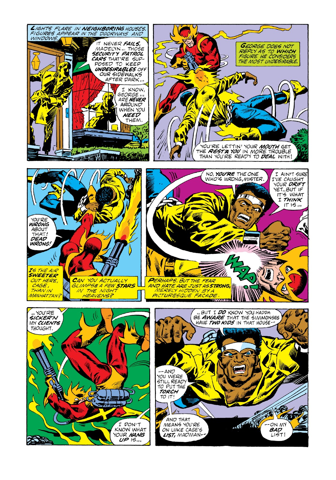 Read online Marvel Masterworks: Luke Cage, Power Man comic -  Issue # TPB 3 (Part 1) - 12