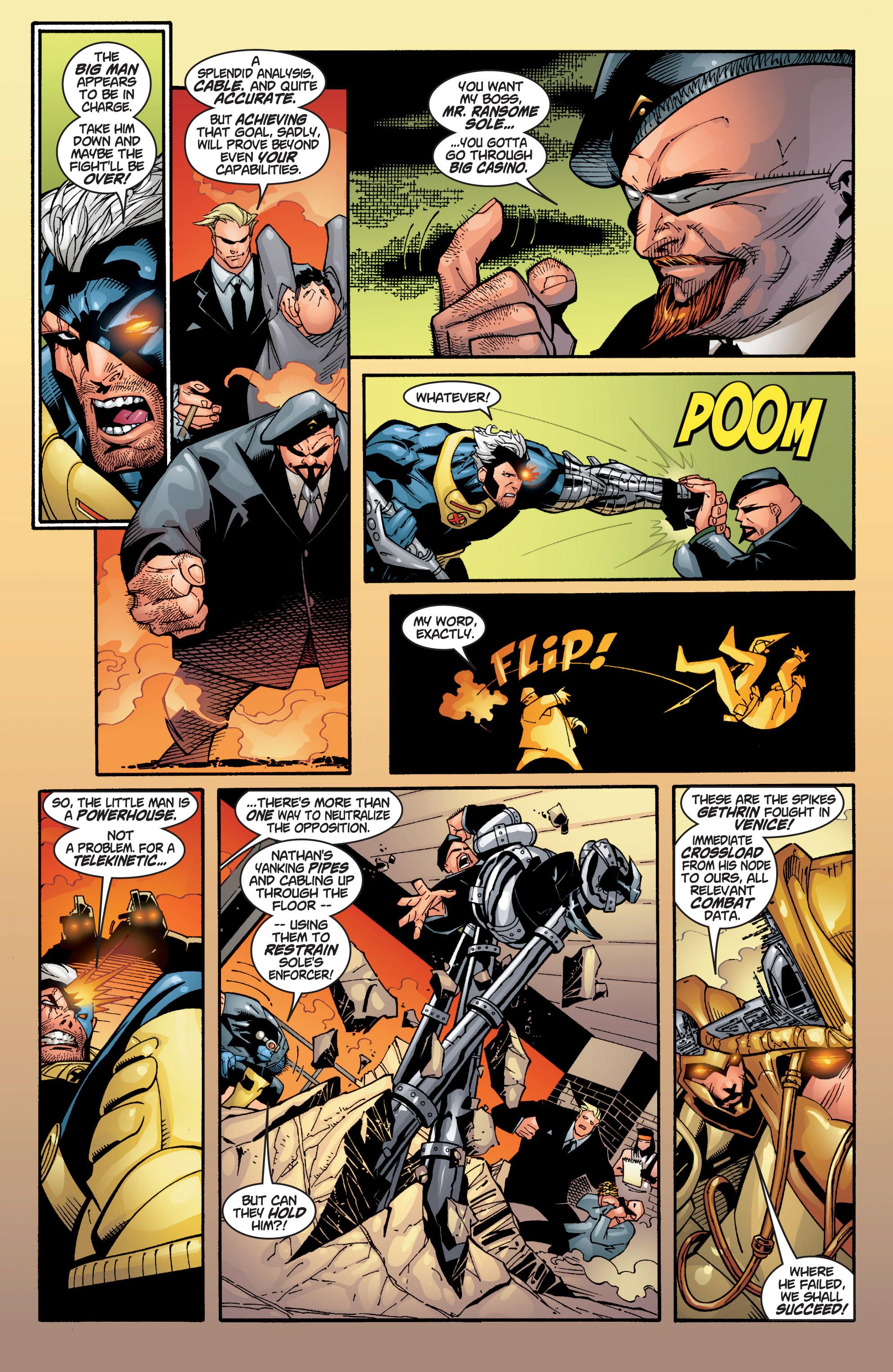 Read online Uncanny X-Men (1963) comic -  Issue #383 - 26
