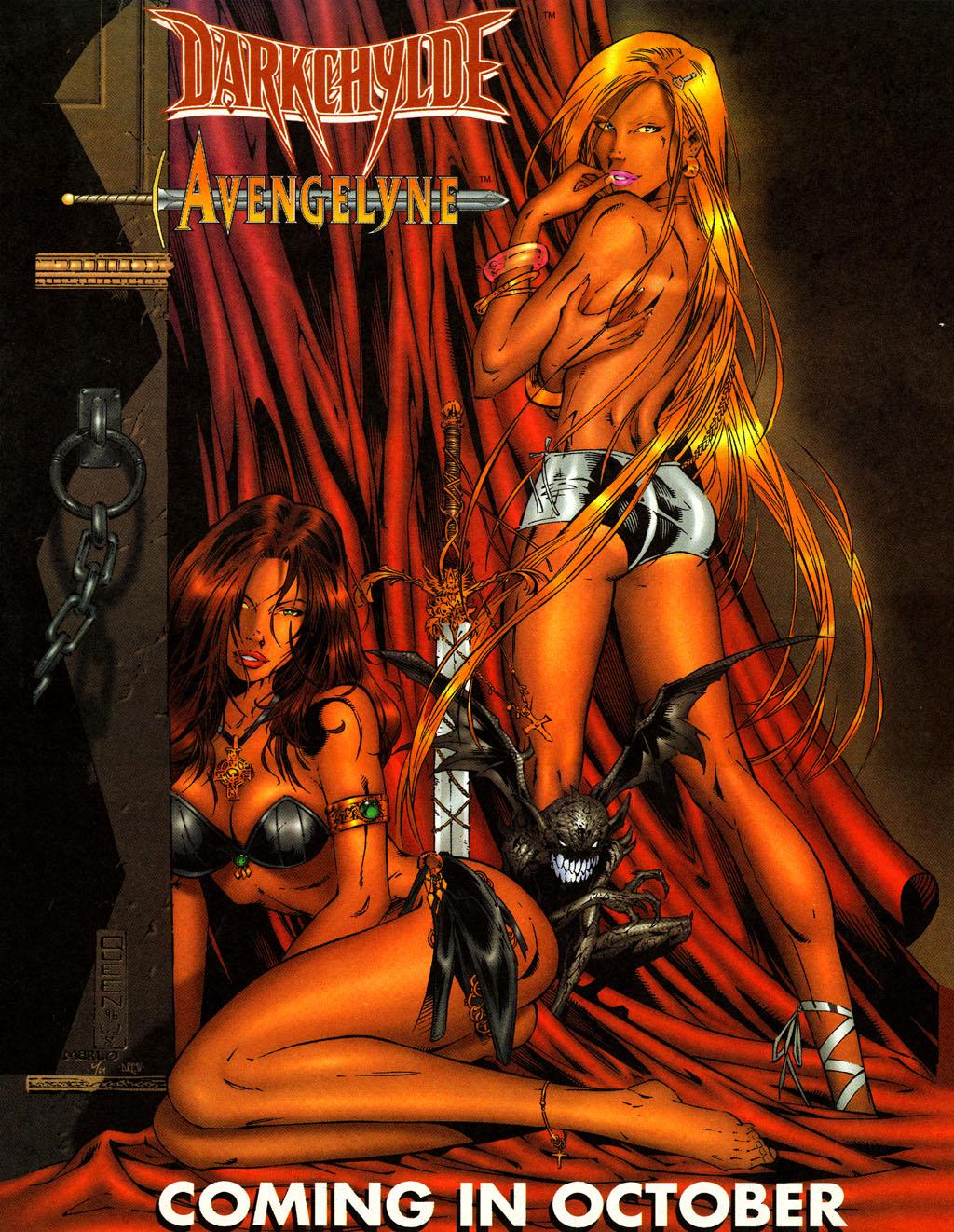 Read online Avengelyne (1996) comic -  Issue #4 - 16