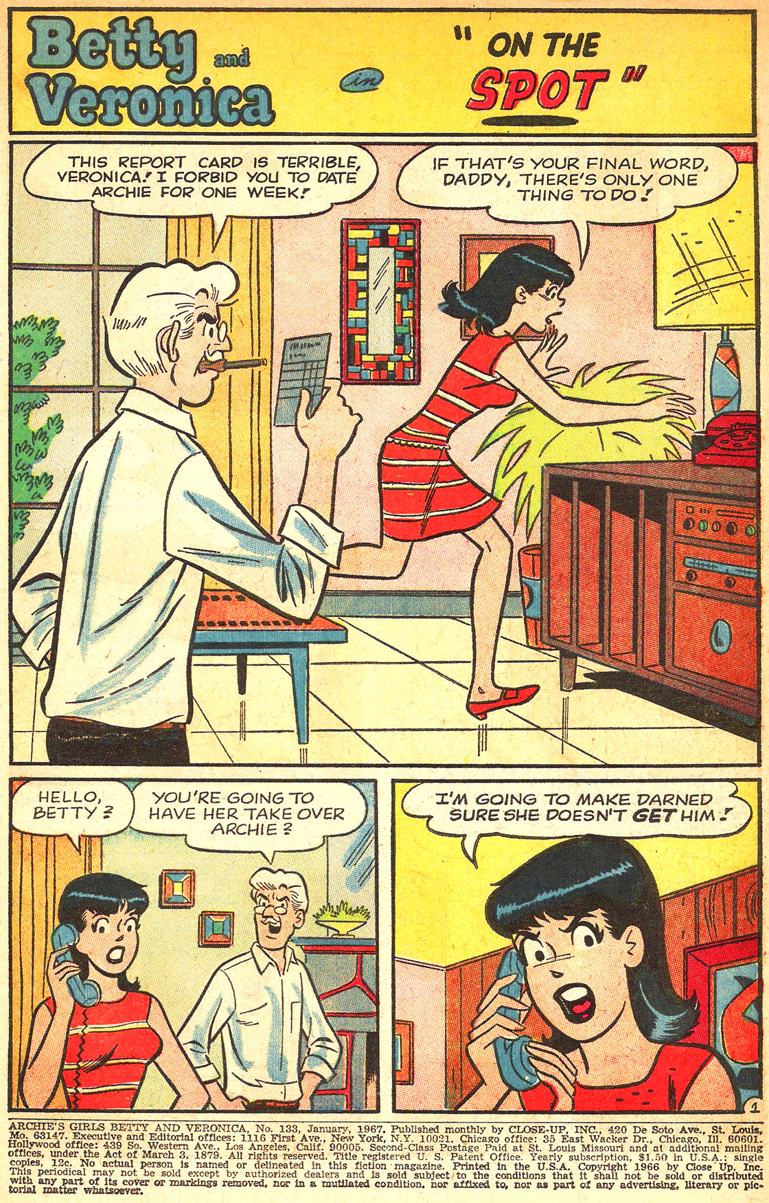Read online Archie's Girls Betty and Veronica comic -  Issue #133 - 3