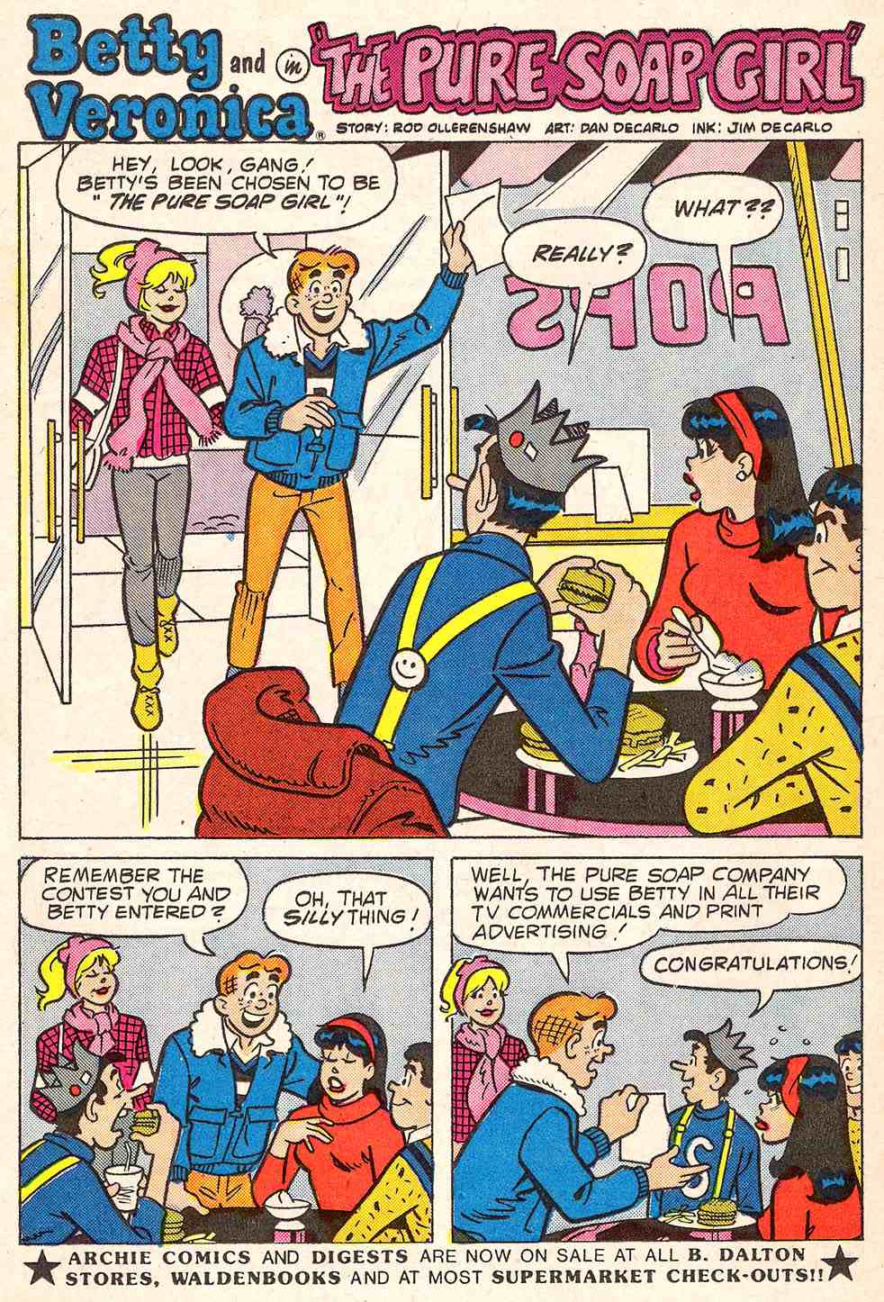 Read online Archie's Girls Betty and Veronica comic -  Issue #347 - 26