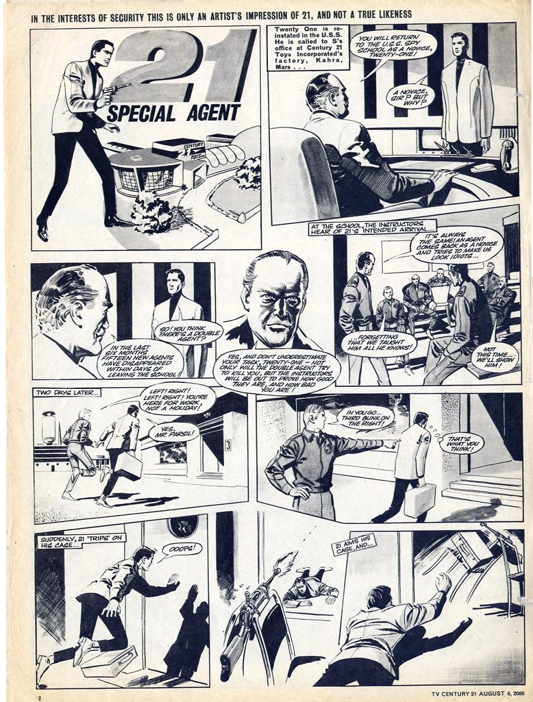 Read online TV Century 21 (TV 21) comic -  Issue #81 - 2