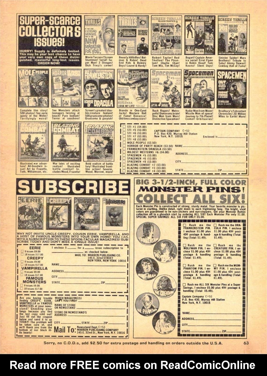Creepy (1964) Issue #53 #53 - English 62