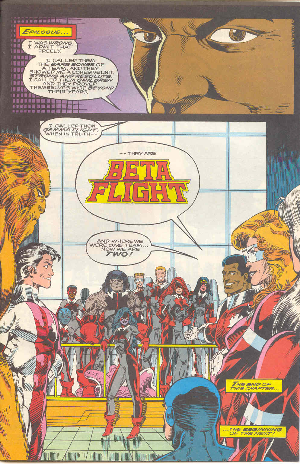 Read online Alpha Flight (1983) comic -  Issue #112 - 23