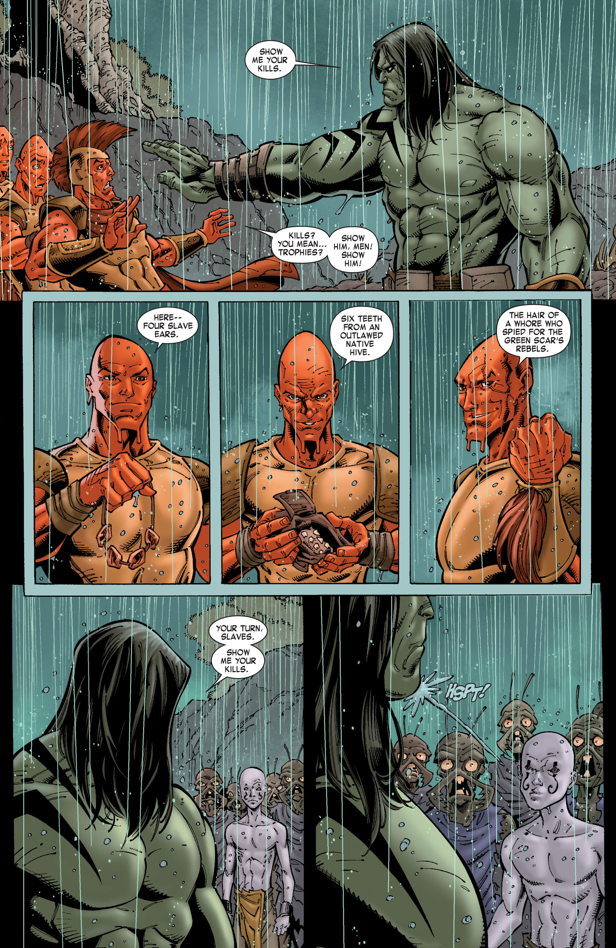 Read online Skaar: Son of Hulk comic -  Issue #8 - 7