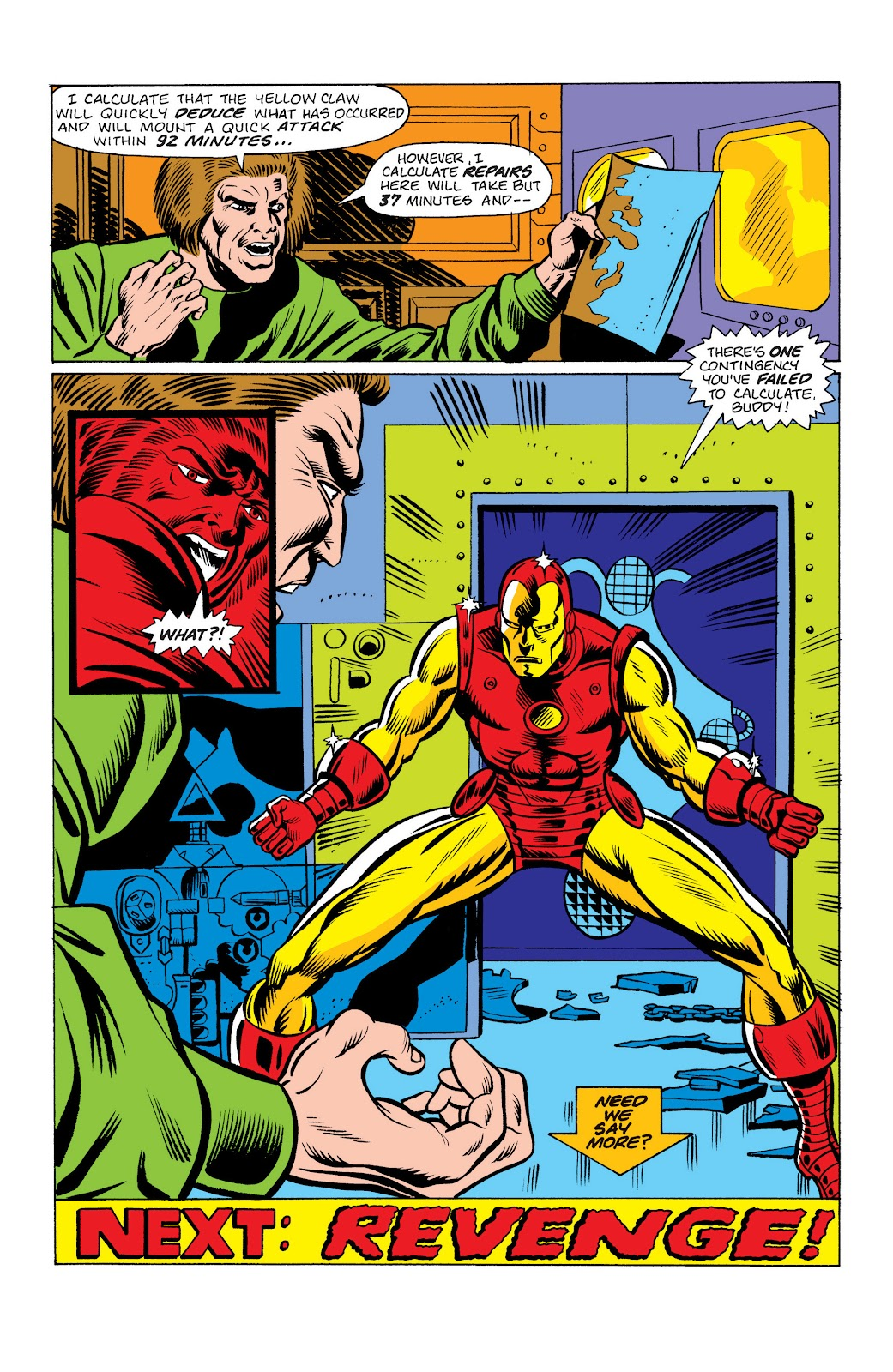 Read online Marvel Masterworks: The Invincible Iron Man comic -  Issue # TPB 10 (Part 2) - 54