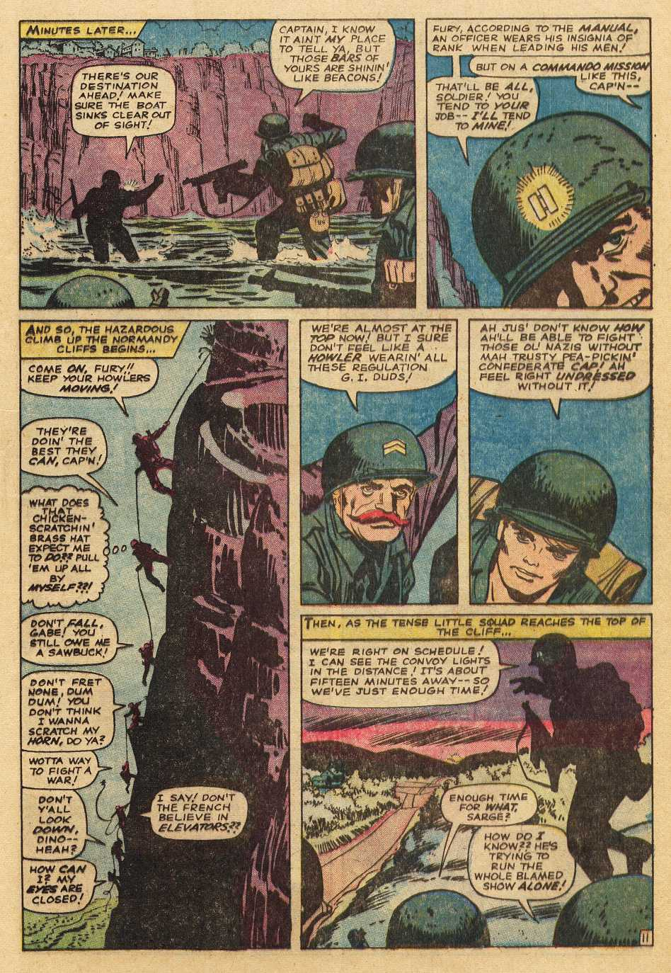 Read online Sgt. Fury comic -  Issue # _Special 2 - 53