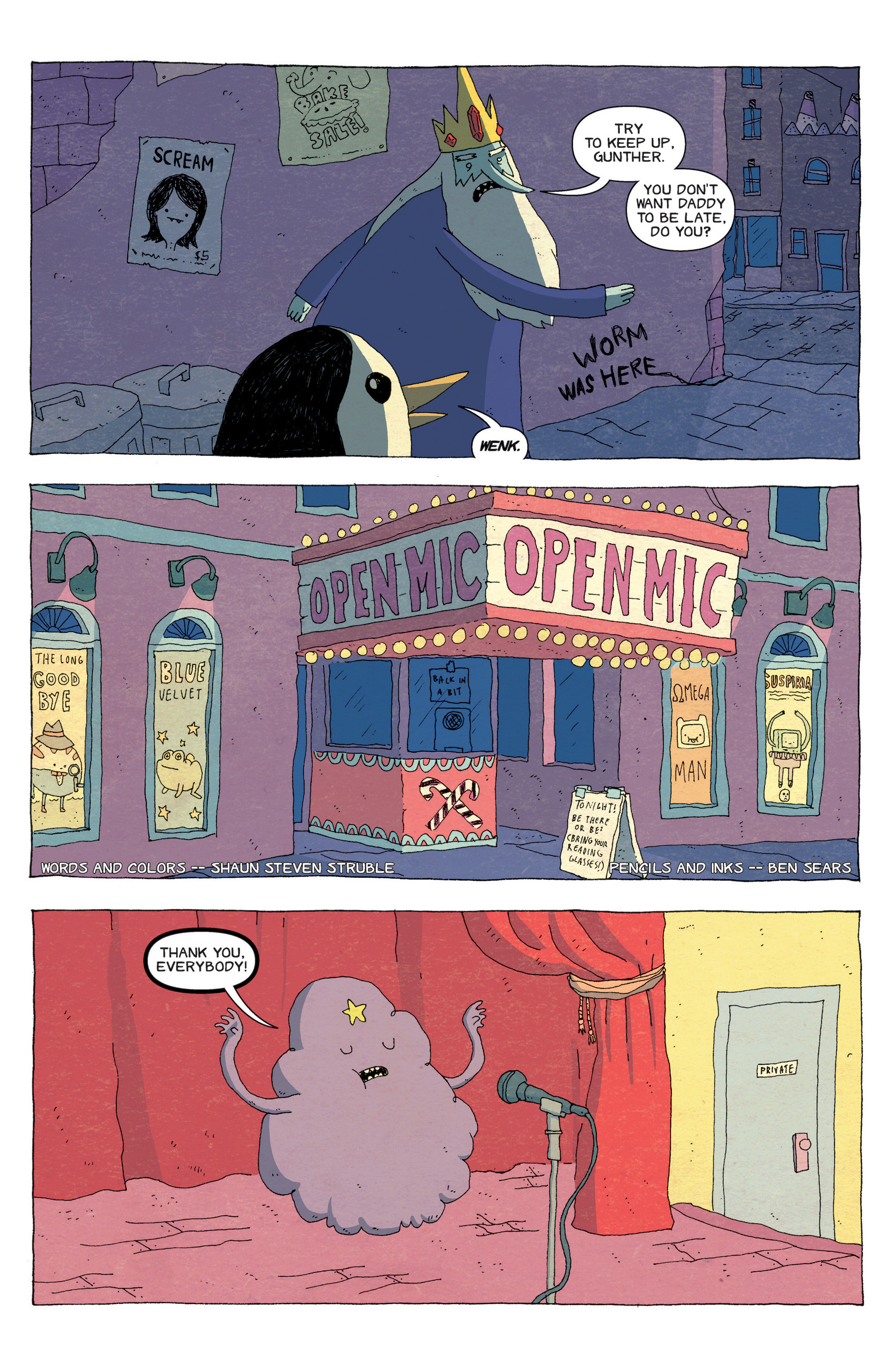 Read online Adventure Time comic -  Issue #43 - 19