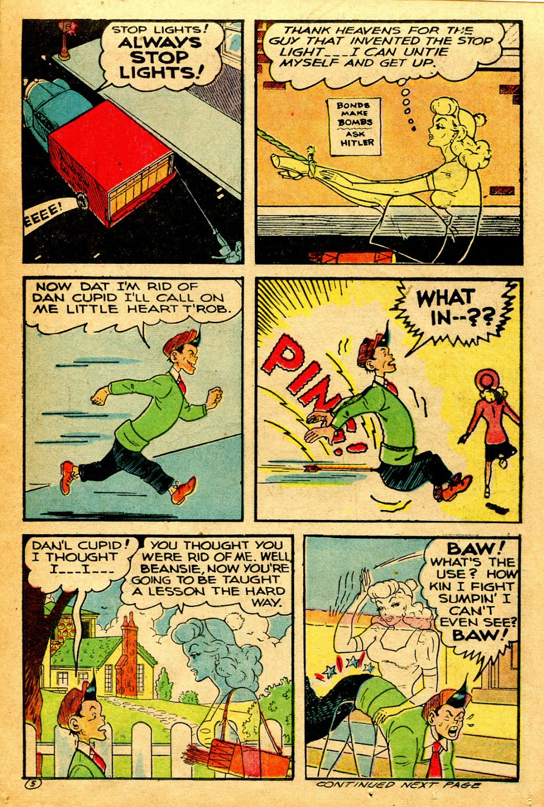 Read online Famous Funnies comic -  Issue #126 - 17