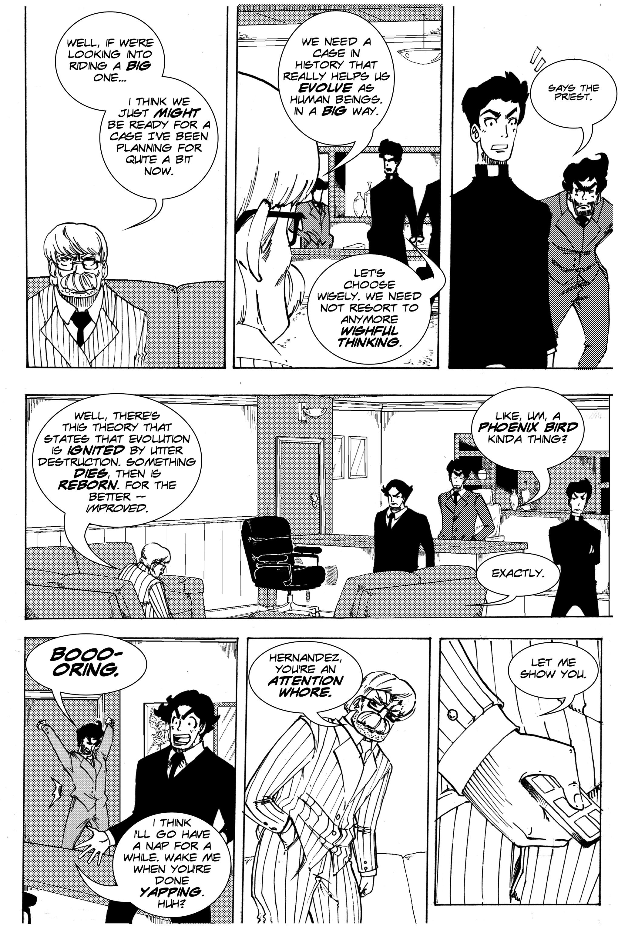 Read online Silvertongue 30xx Vol. 3 comic -  Issue # Full - 13