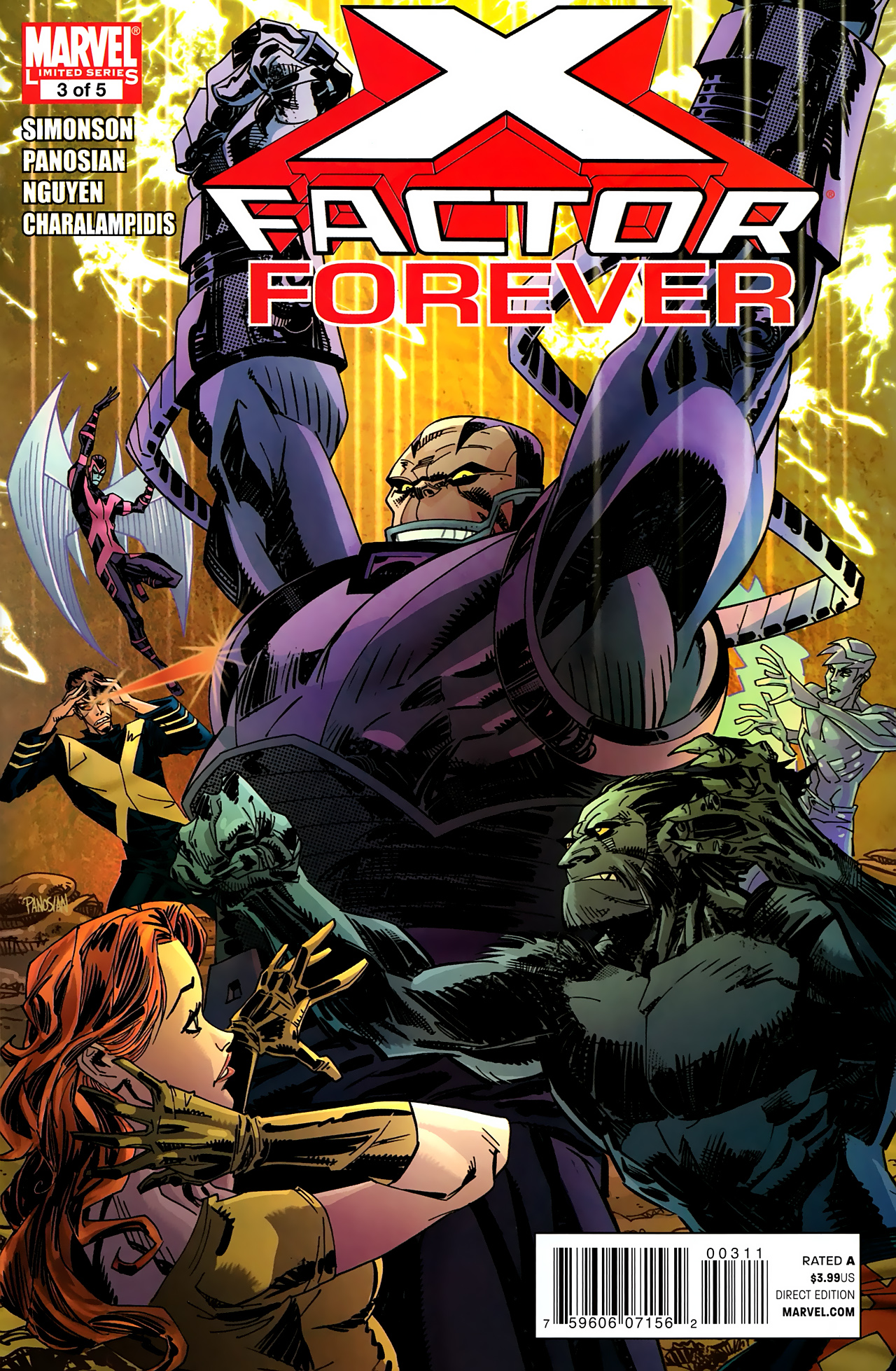 Read online X-Factor Forever comic -  Issue #3 - 1