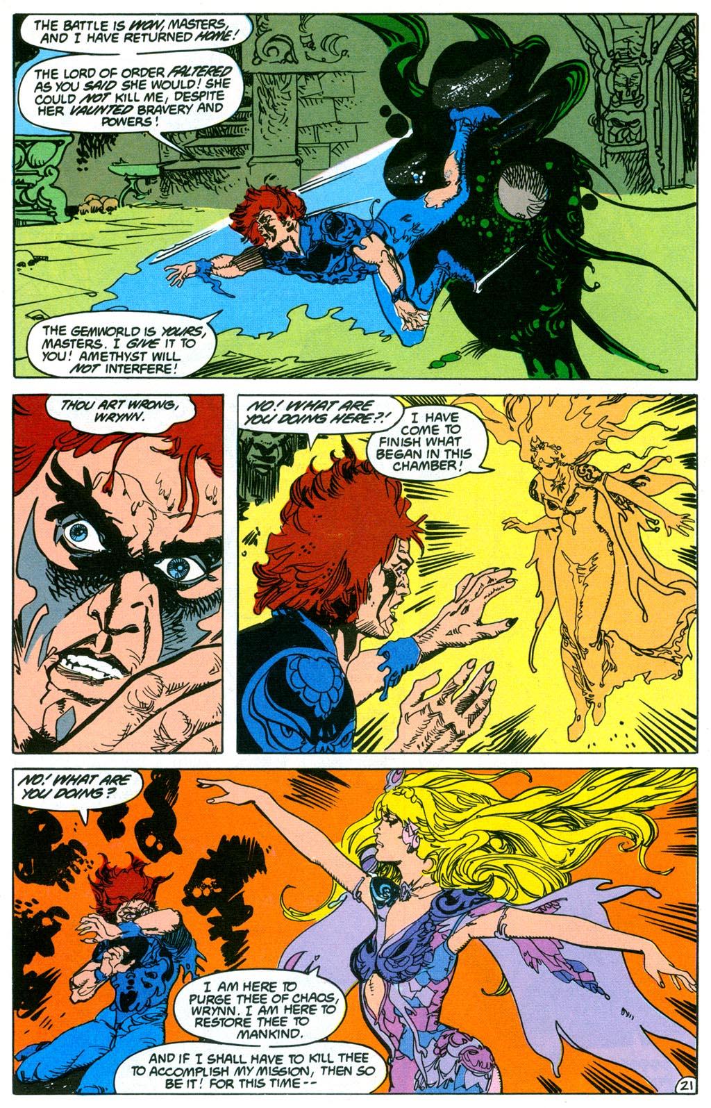 Read online Amethyst (1987) comic -  Issue #2 - 24
