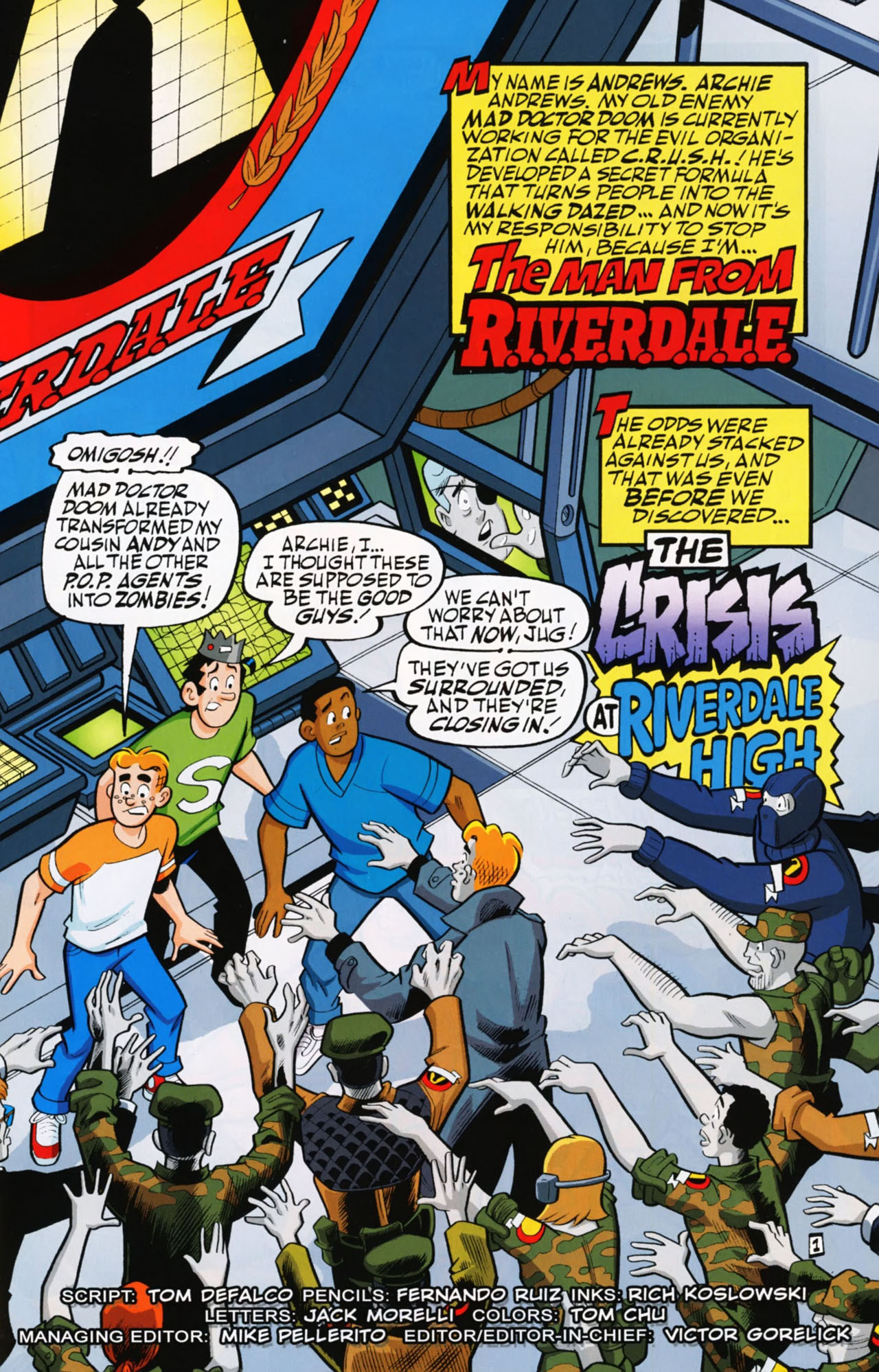Read online Archie (1960) comic -  Issue #612 - 3
