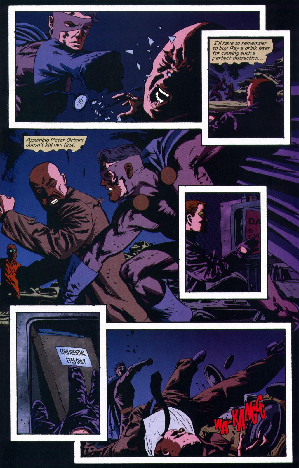 Read online Sleeper comic -  Issue #9 - 21