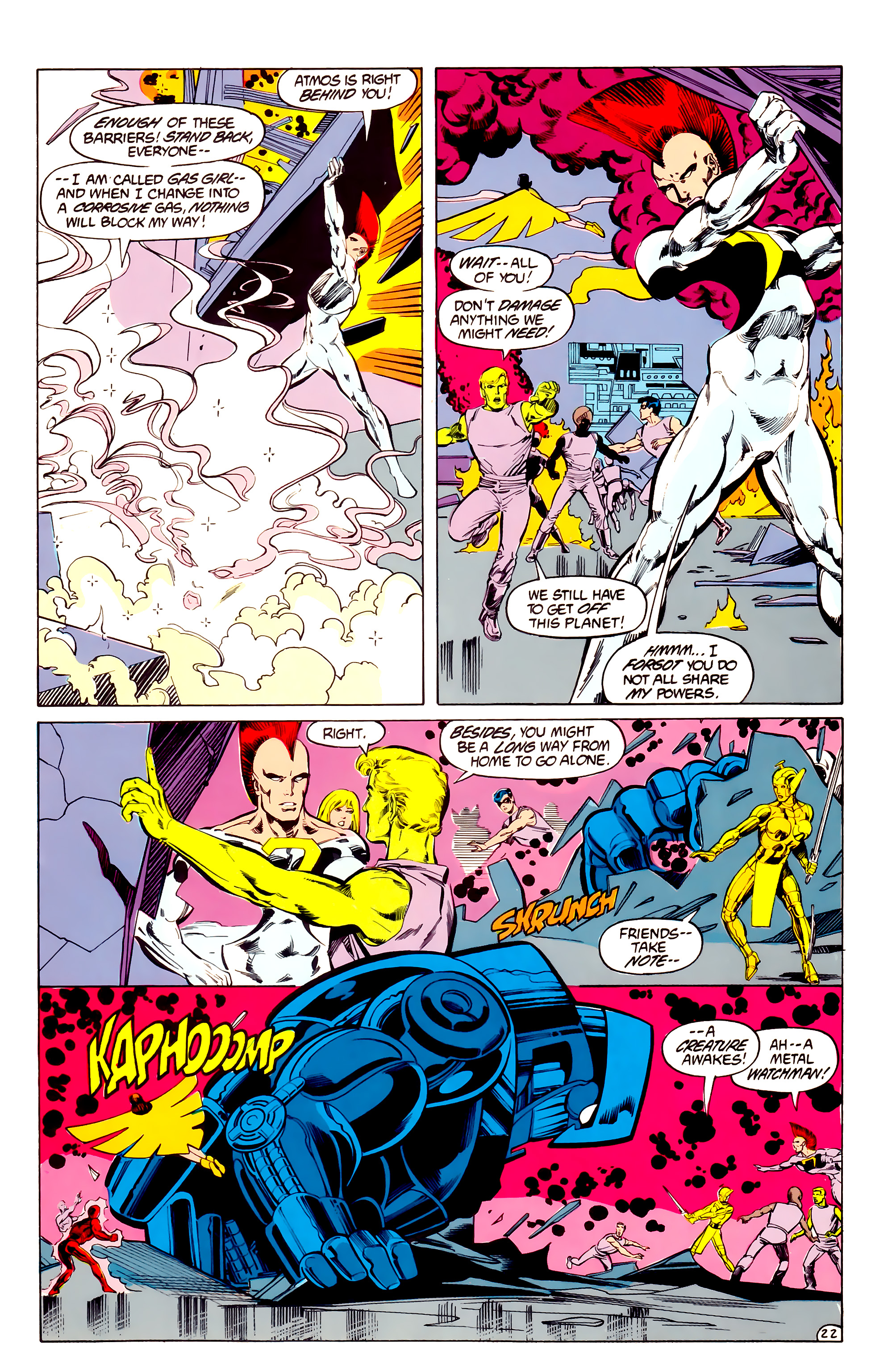 Legion of Super-Heroes (1984) 33 Page 22