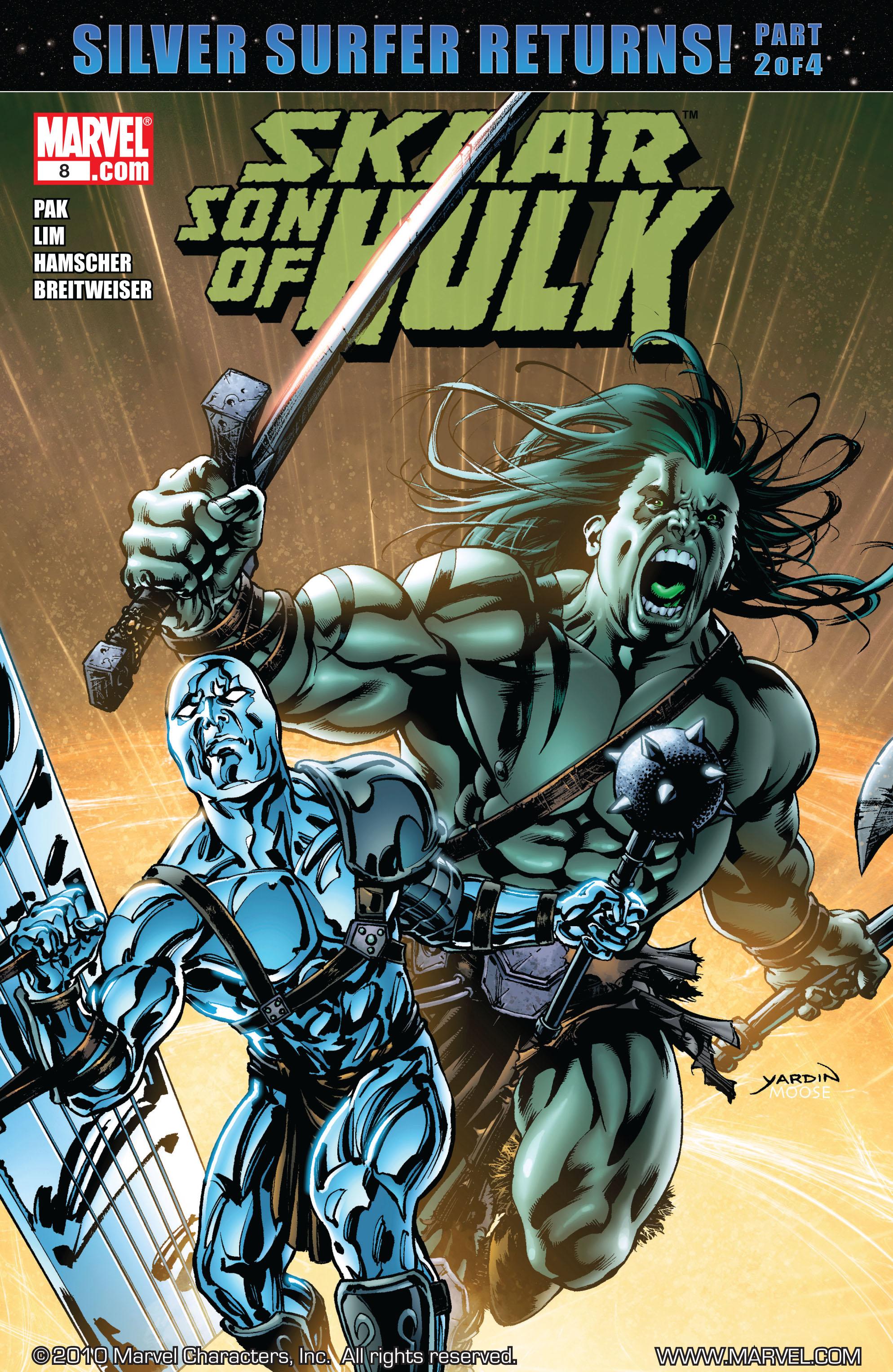 Read online Skaar: Son of Hulk comic -  Issue #8 - 1