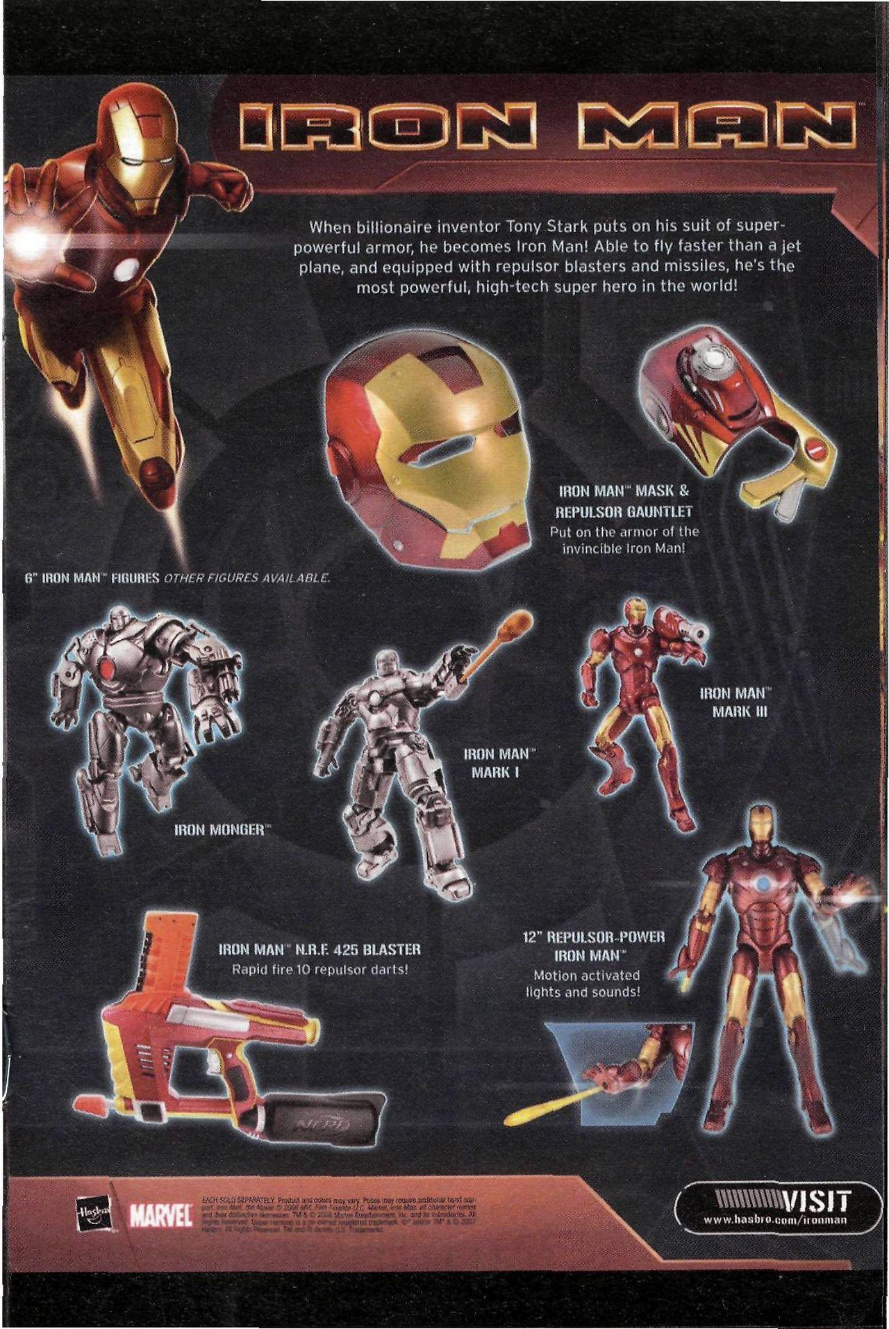 Read online Sega Iron Man Special comic -  Issue # Full - 11